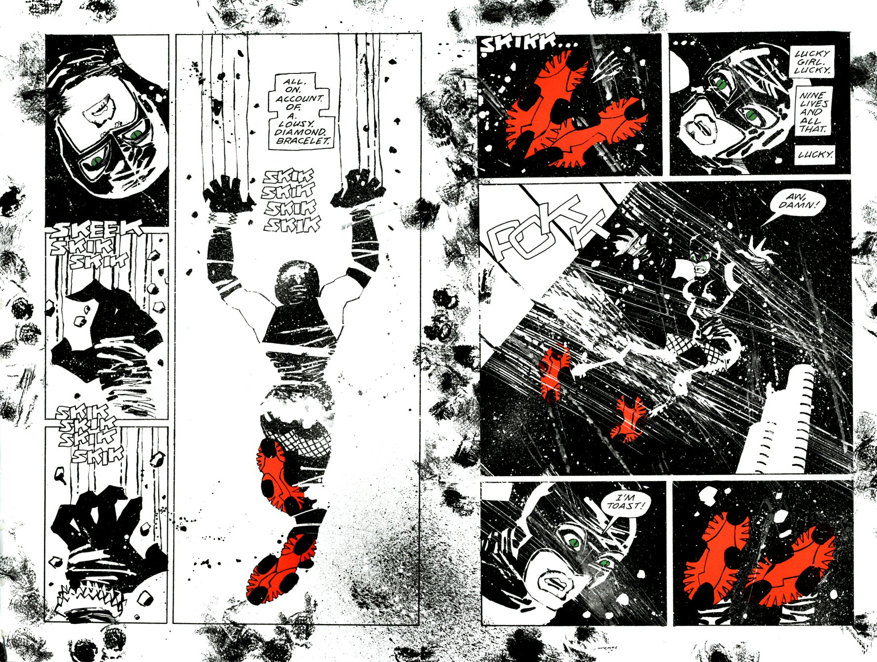 Read online Frank Miller's Holy Terror comic -  Issue # TPB - 18