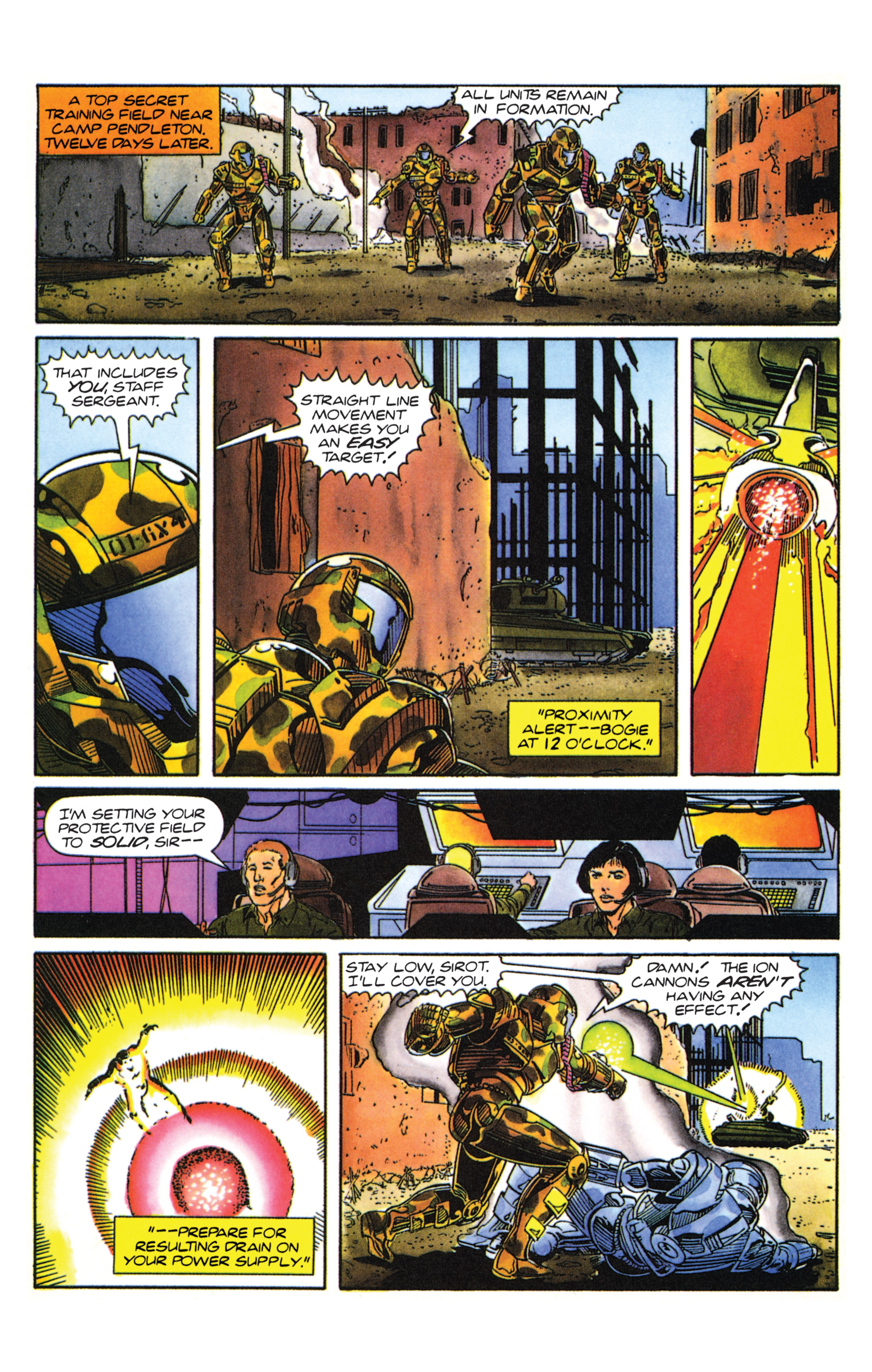 Read online Armorines comic -  Issue #0 - 12