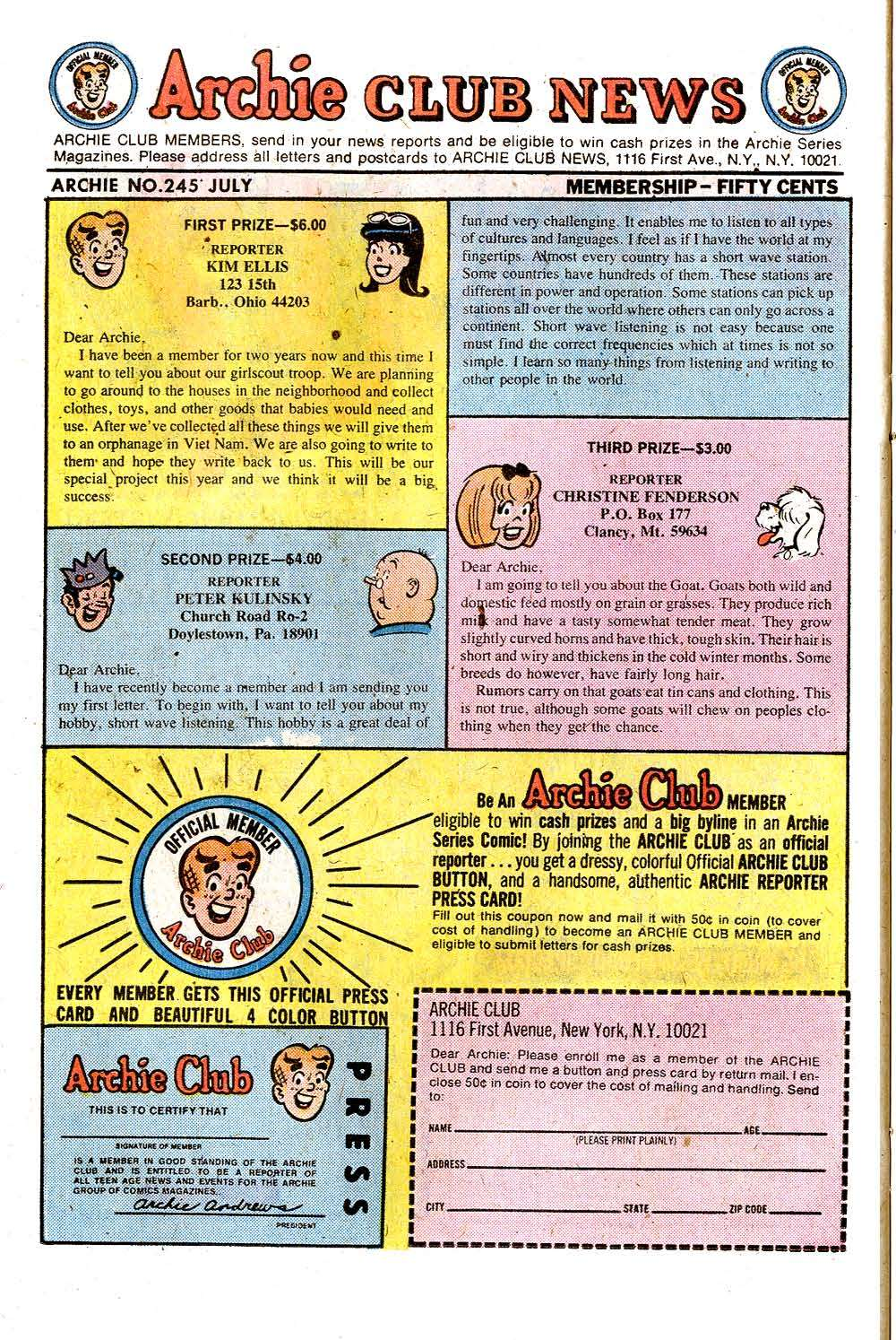 Read online Archie (1960) comic -  Issue #245 - 26