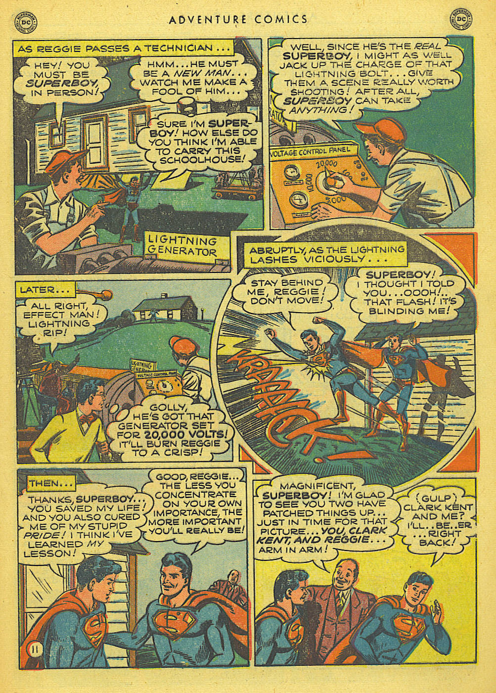 Read online Adventure Comics (1938) comic -  Issue #155 - 13