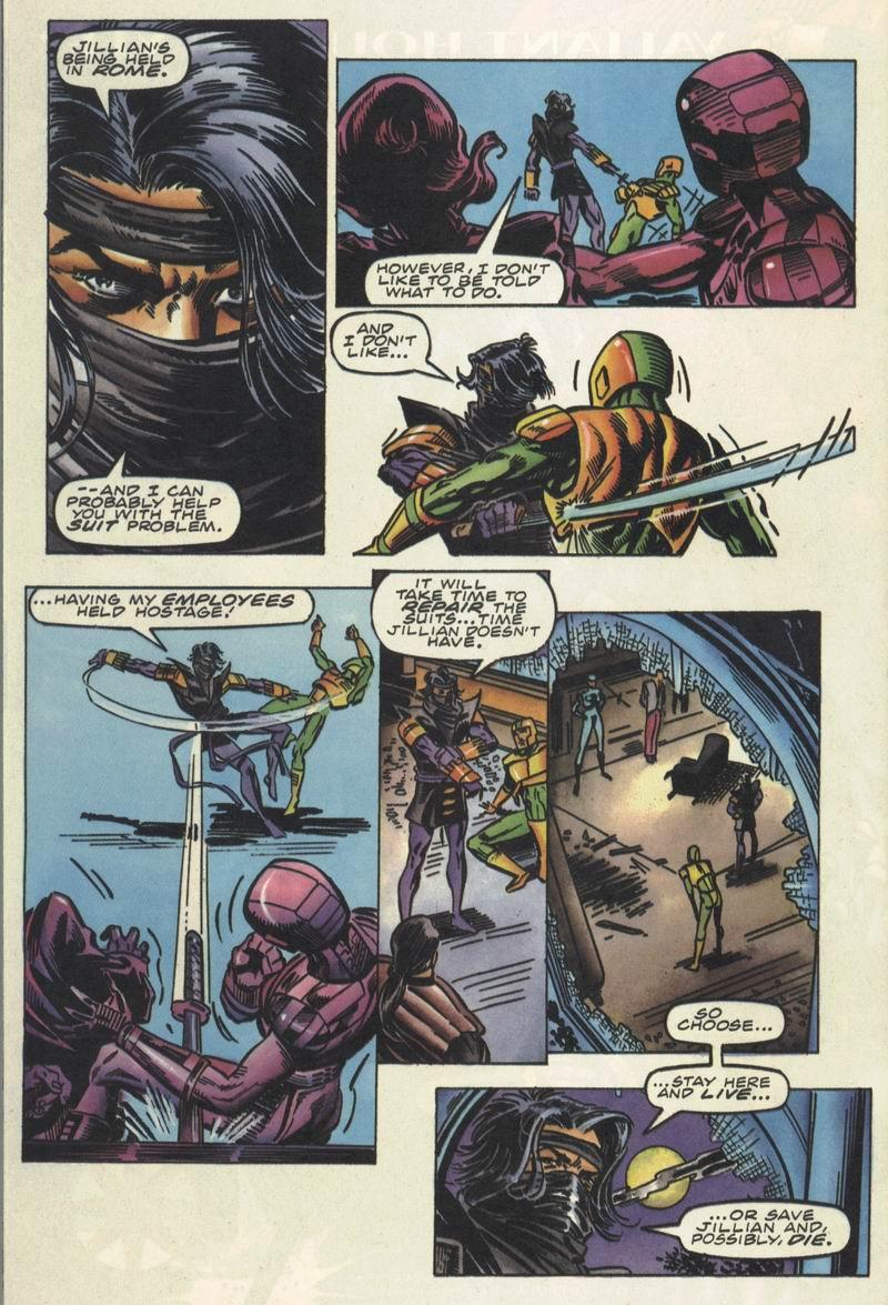 Read online Secret Weapons comic -  Issue #16 - 20