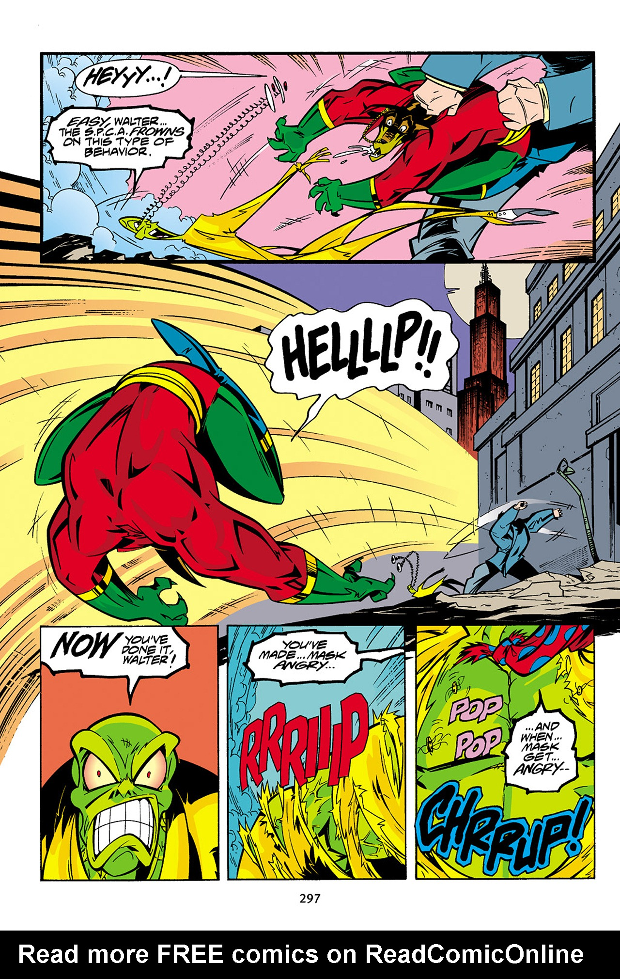 Read online Adventures Of The Mask Omnibus comic -  Issue #Adventures Of The Mask Omnibus Full - 296