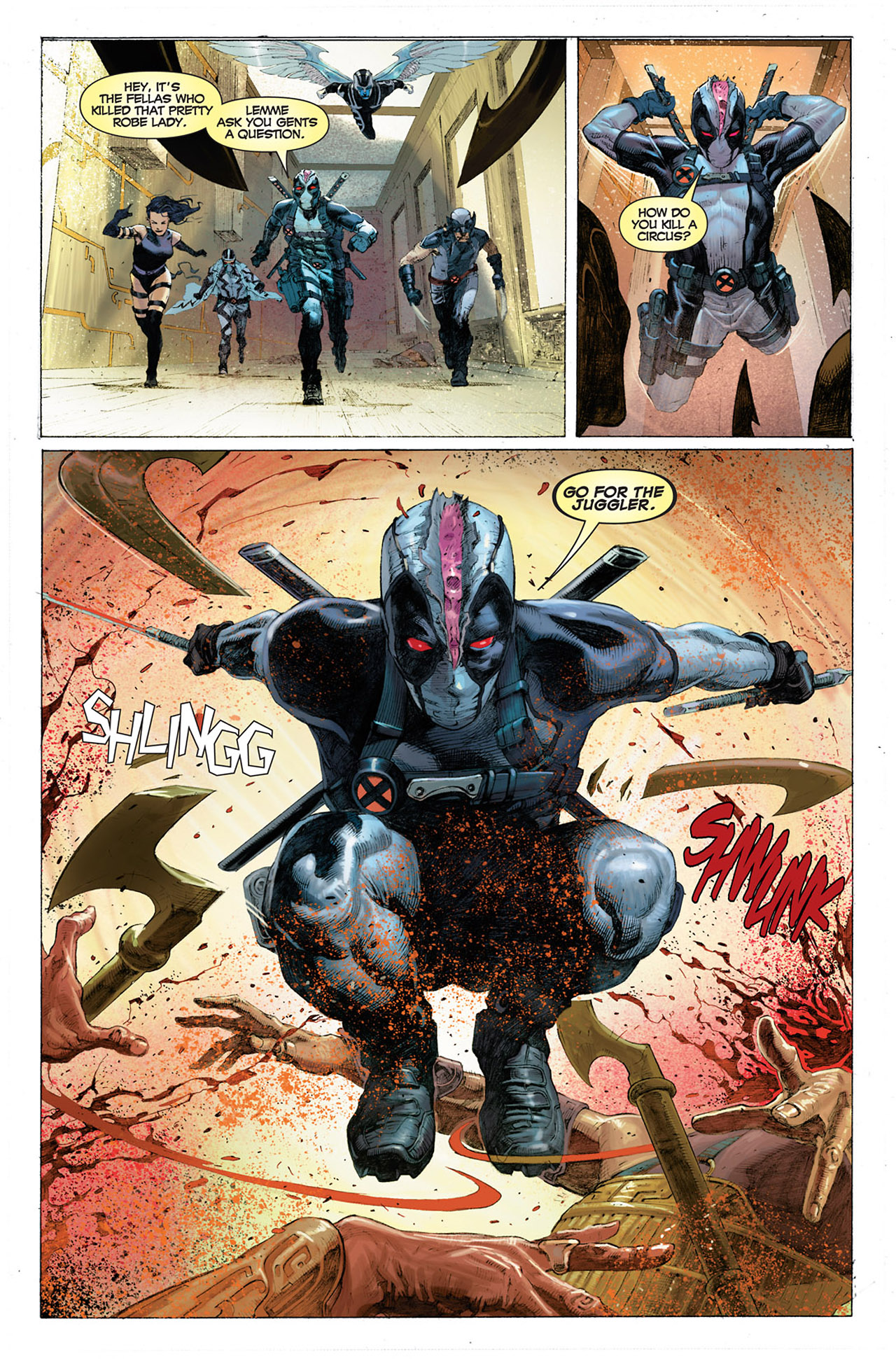 Read online Uncanny X-Force (2010) comic -  Issue #1 - 22