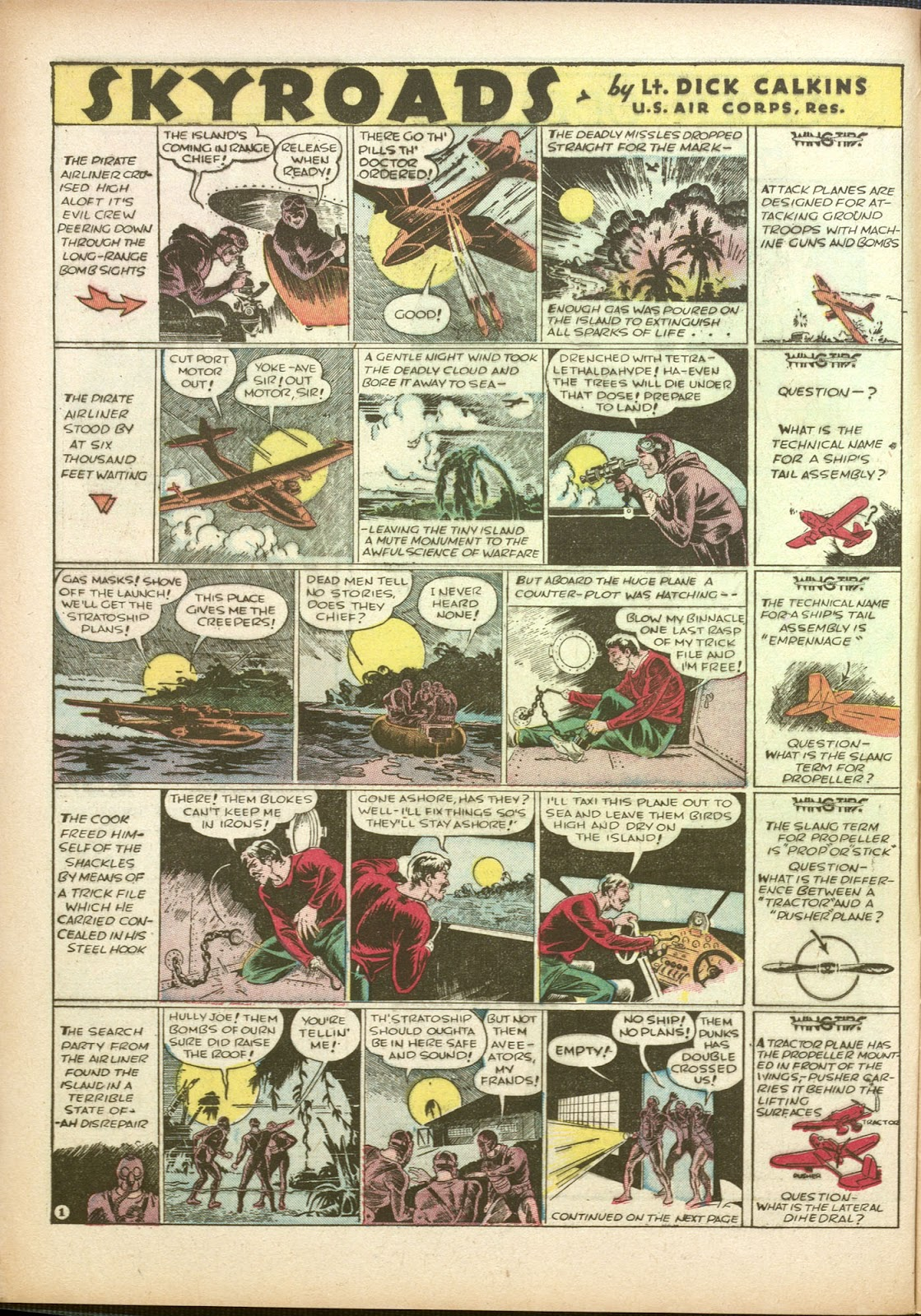 Read online Famous Funnies comic -  Issue #35 - 12