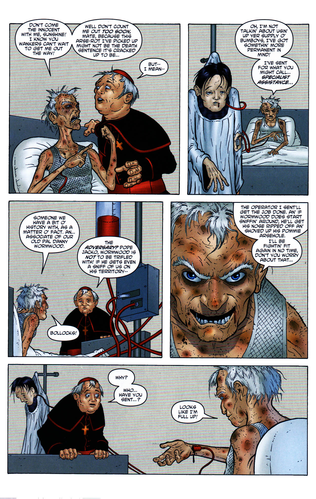 Read online Chronicles of Wormwood: The Last Enemy comic -  Issue # Full - 12