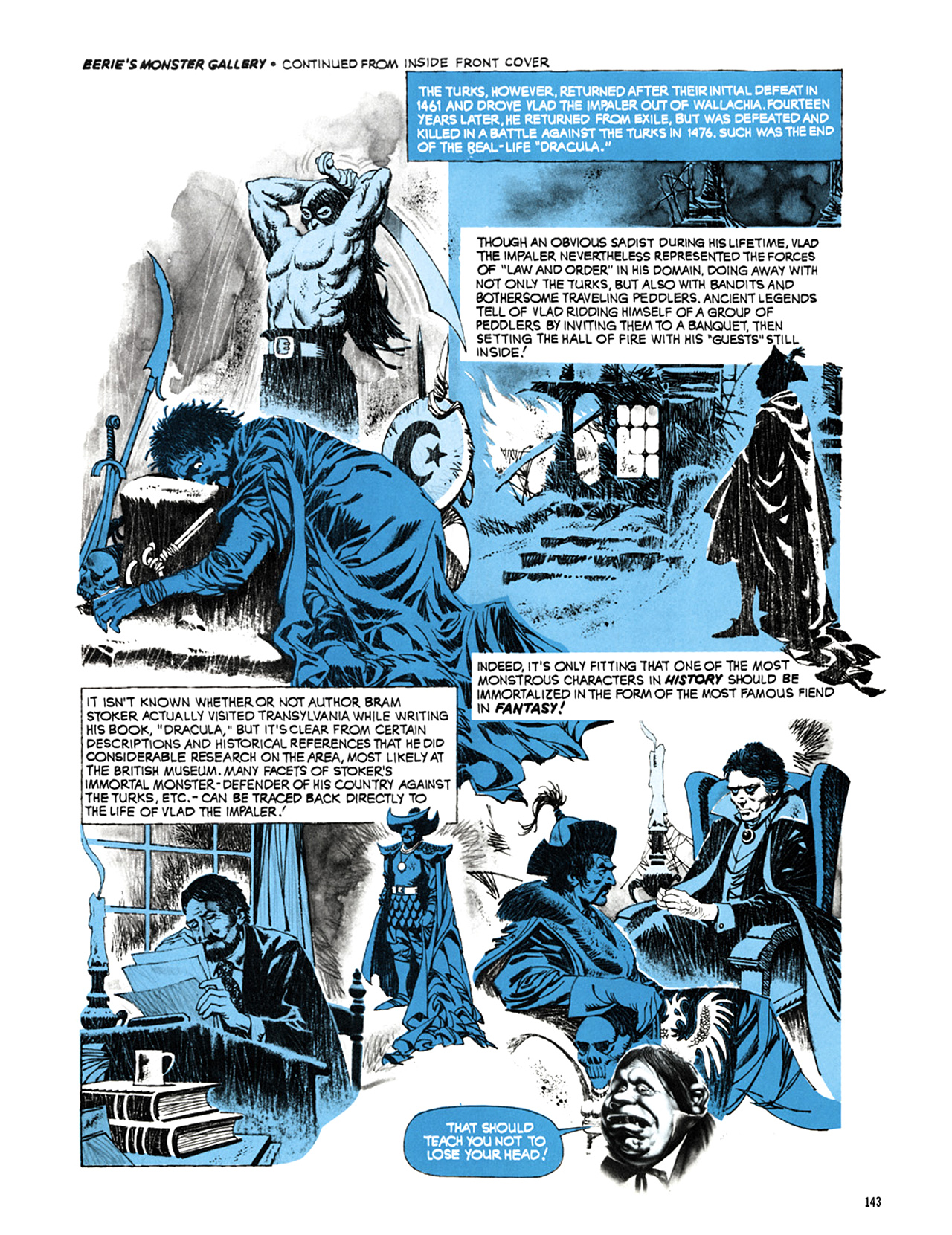 Read online Eerie Archives comic -  Issue # TPB 9 - 144