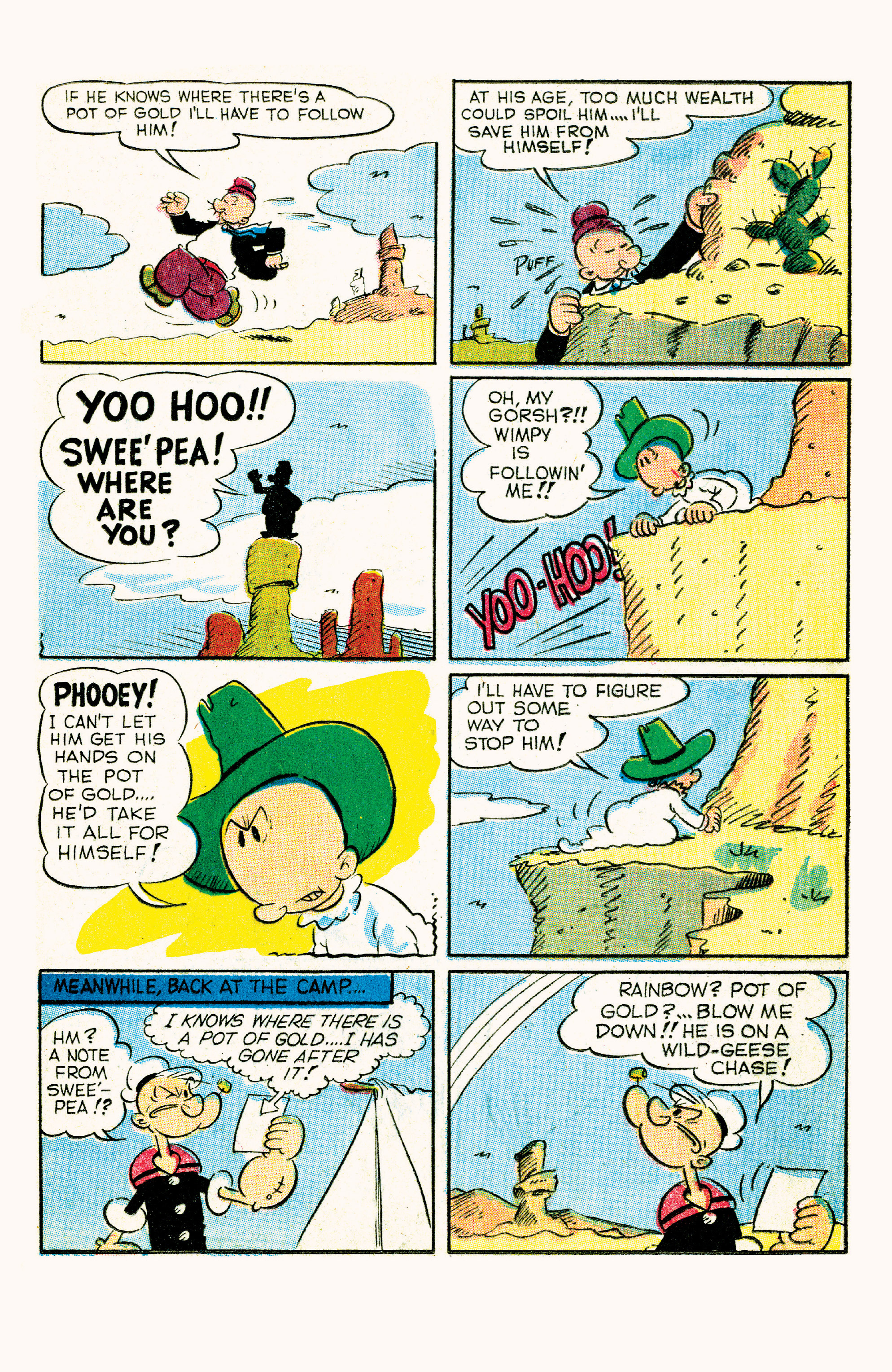 Read online Classic Popeye comic -  Issue #57 - 21