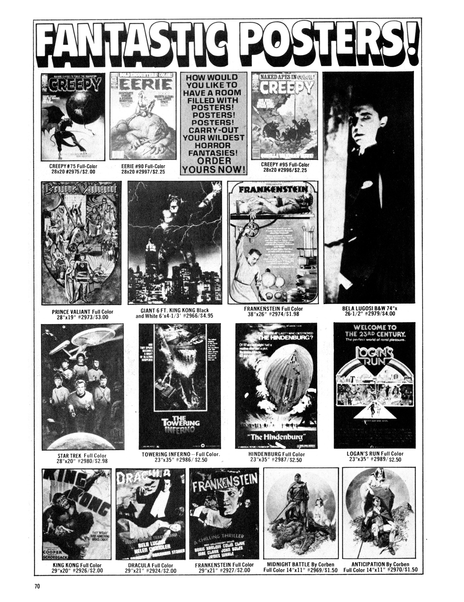 Read online Eerie Archives comic -  Issue # TPB 20 - 70