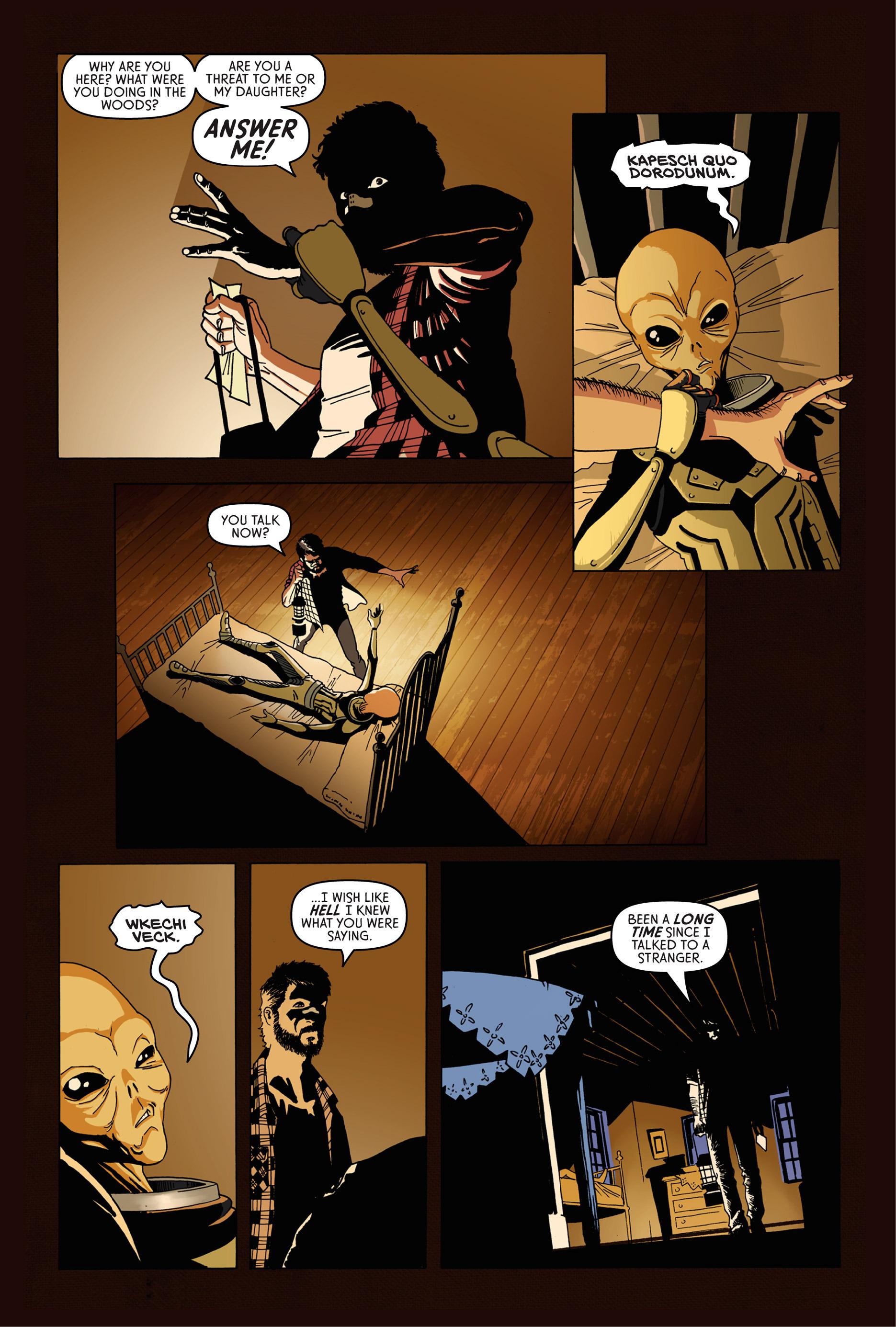 Read online Trespasser comic -  Issue #1 - 19