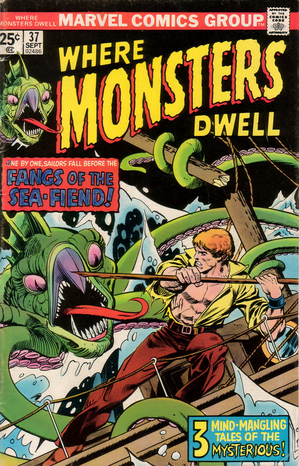 Where Monsters Dwell (1970) issue 37 - Page 1