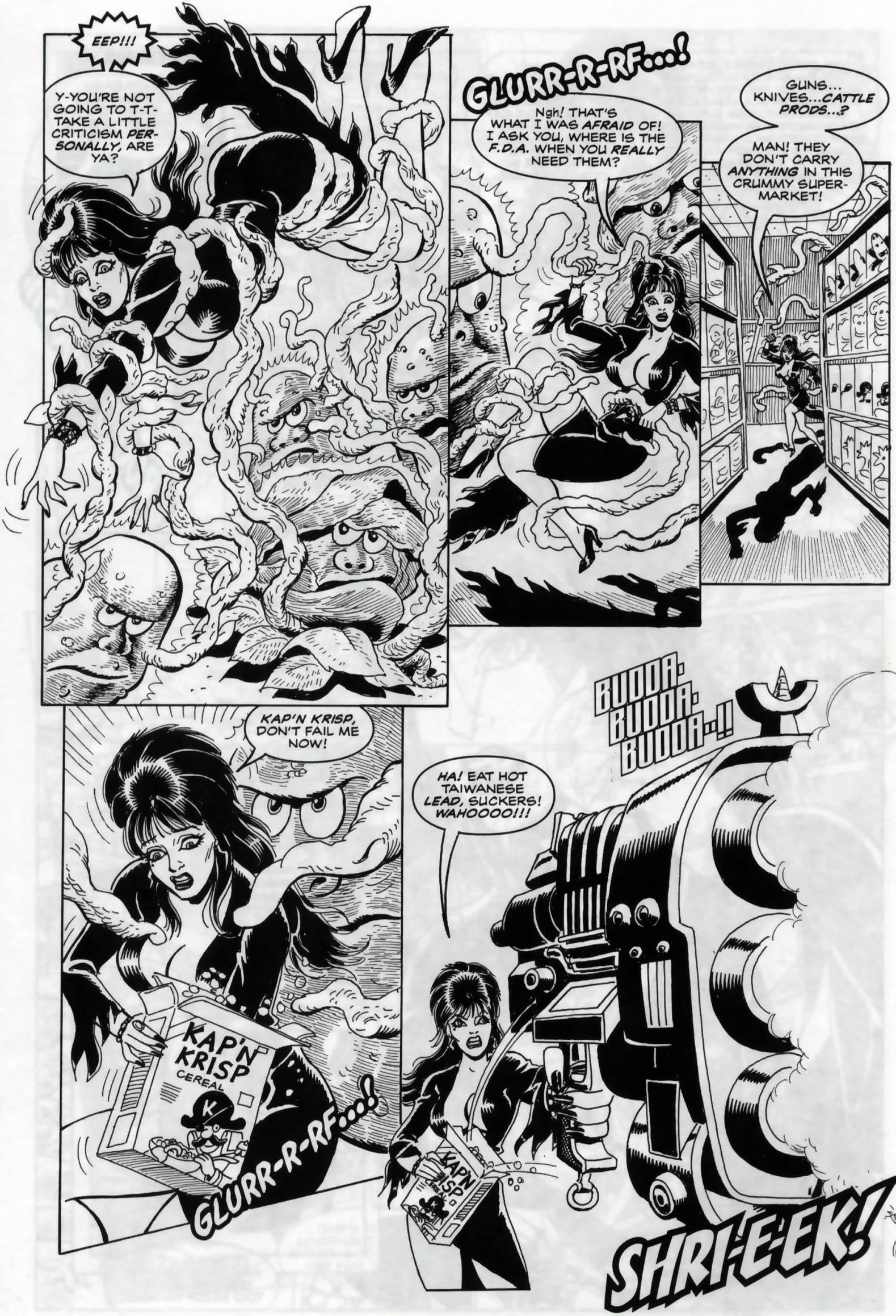 Read online Elvira, Mistress of the Dark comic -  Issue #120 - 12