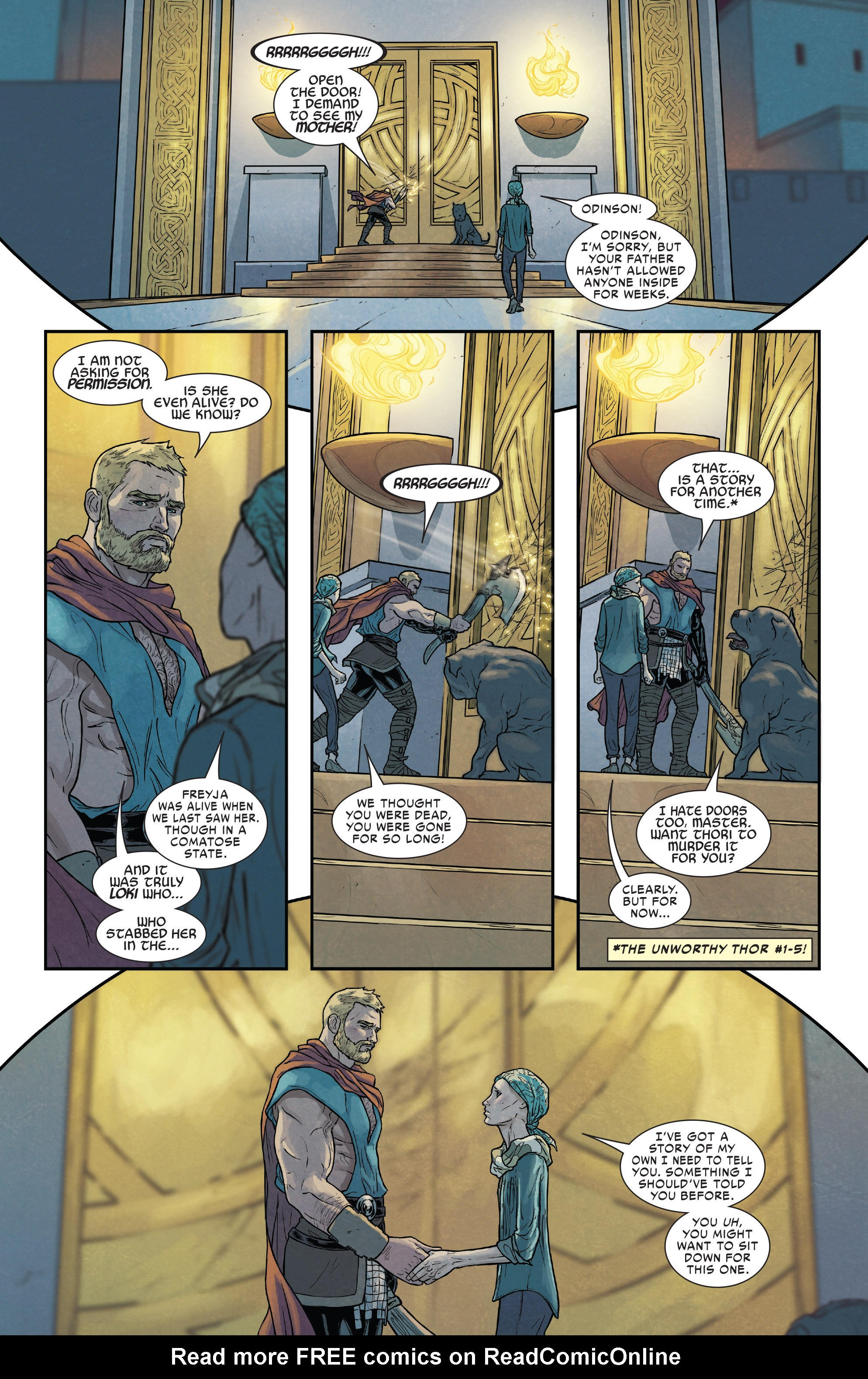 Read online Mighty Thor (2016) comic -  Issue #19 - 19