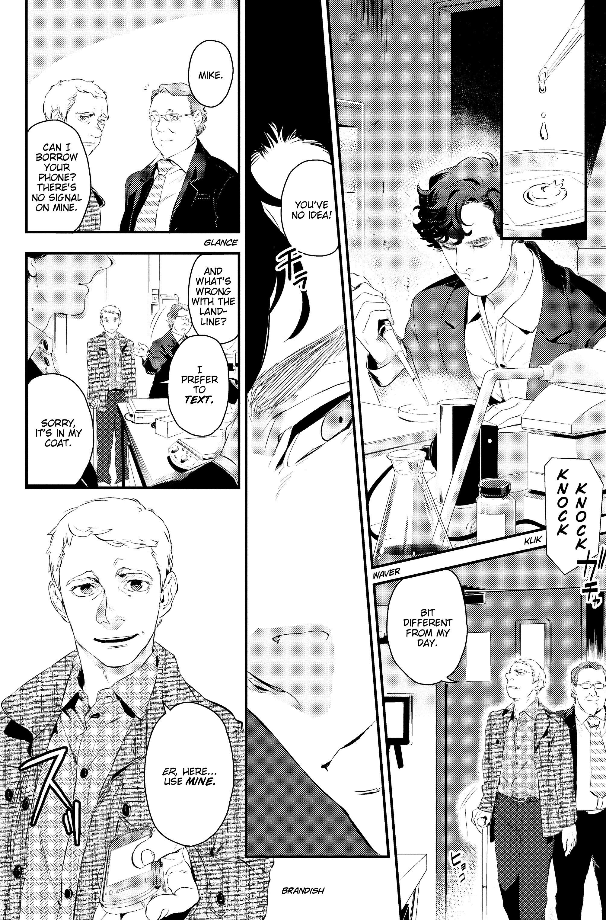 Read online Sherlock: A Study In Pink comic -  Issue #1 - 28