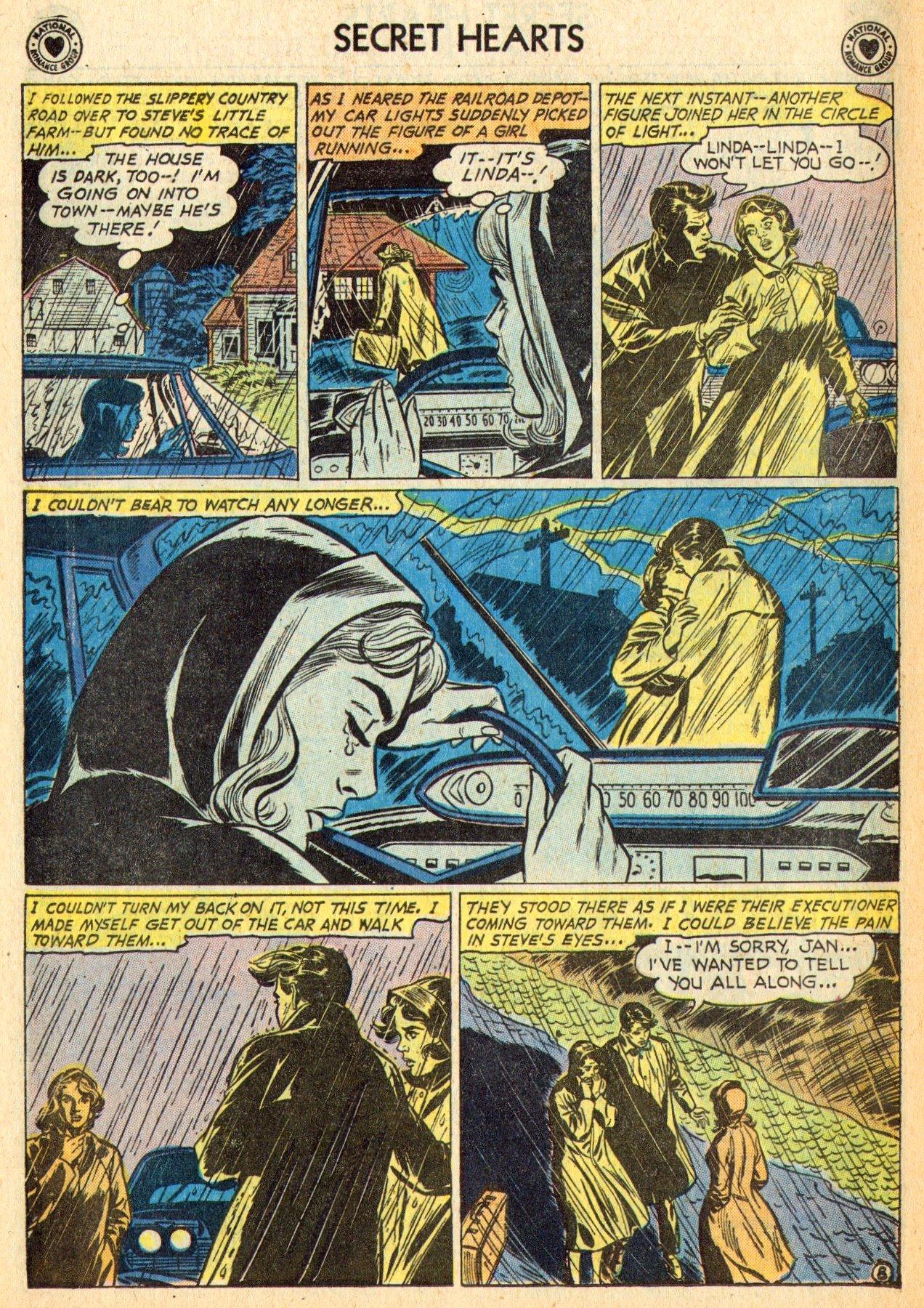 Read online Secret Hearts comic -  Issue #70 - 10
