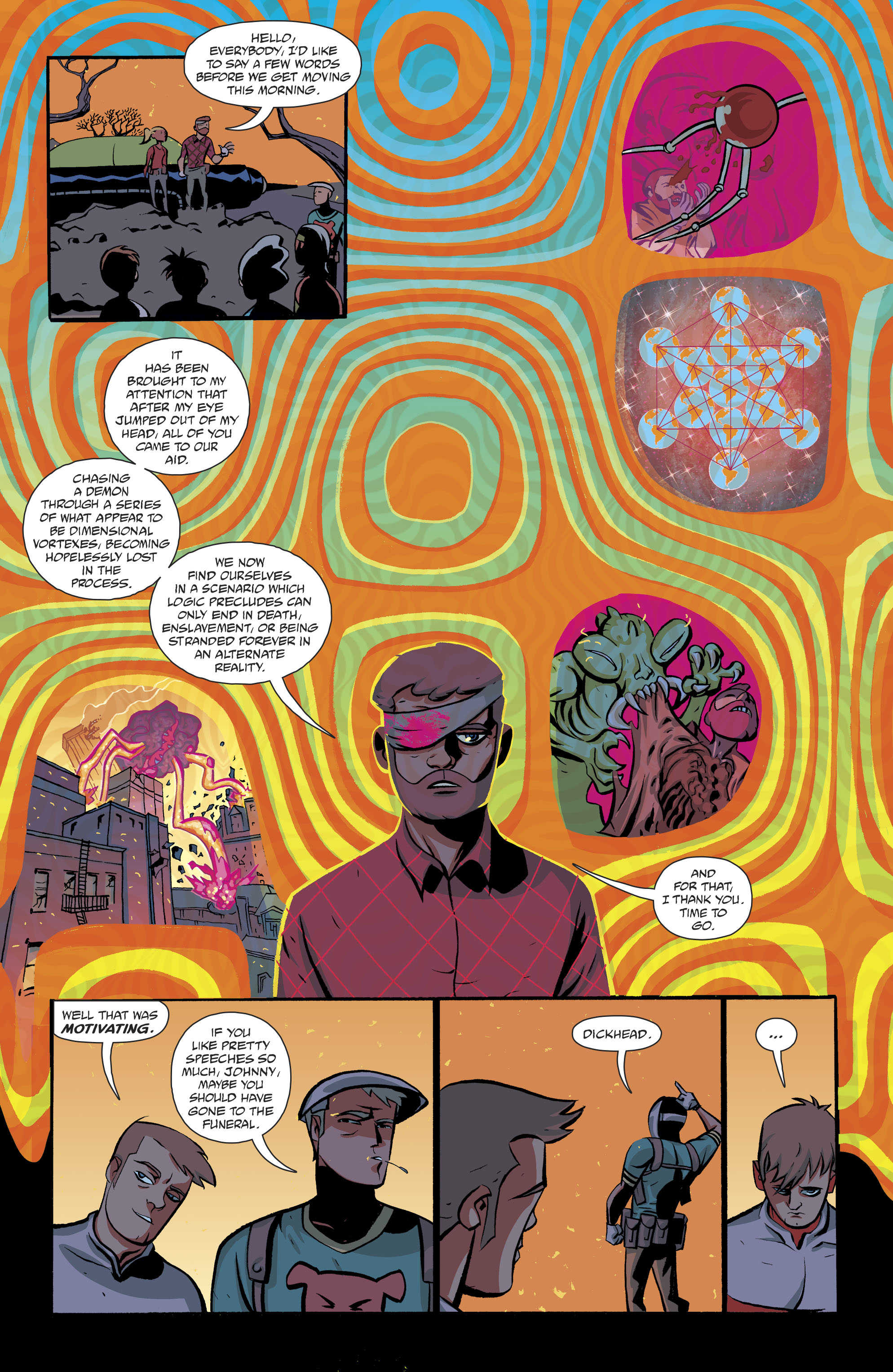 Read online Cave Carson Has a Cybernetic Eye comic -  Issue #8 - 6