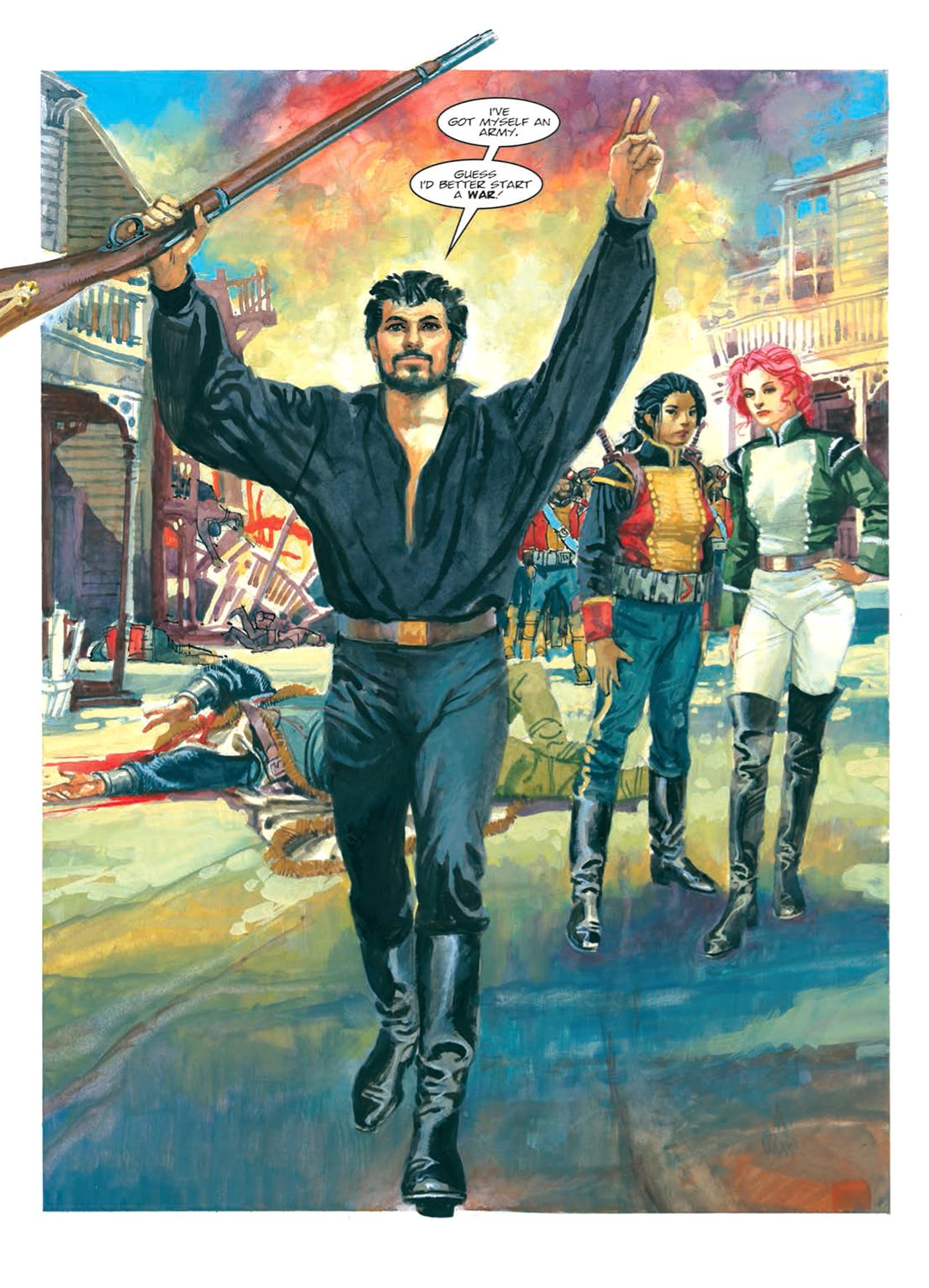 Read online Nikolai Dante comic -  Issue # TPB 9 - 120