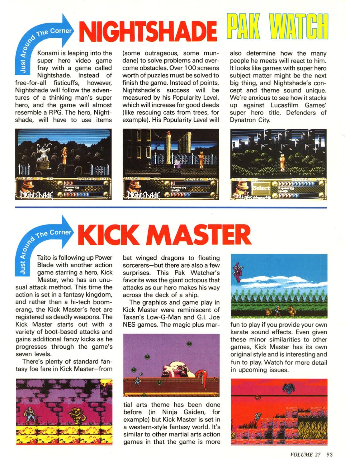 Comic Nintendo Power issue 27