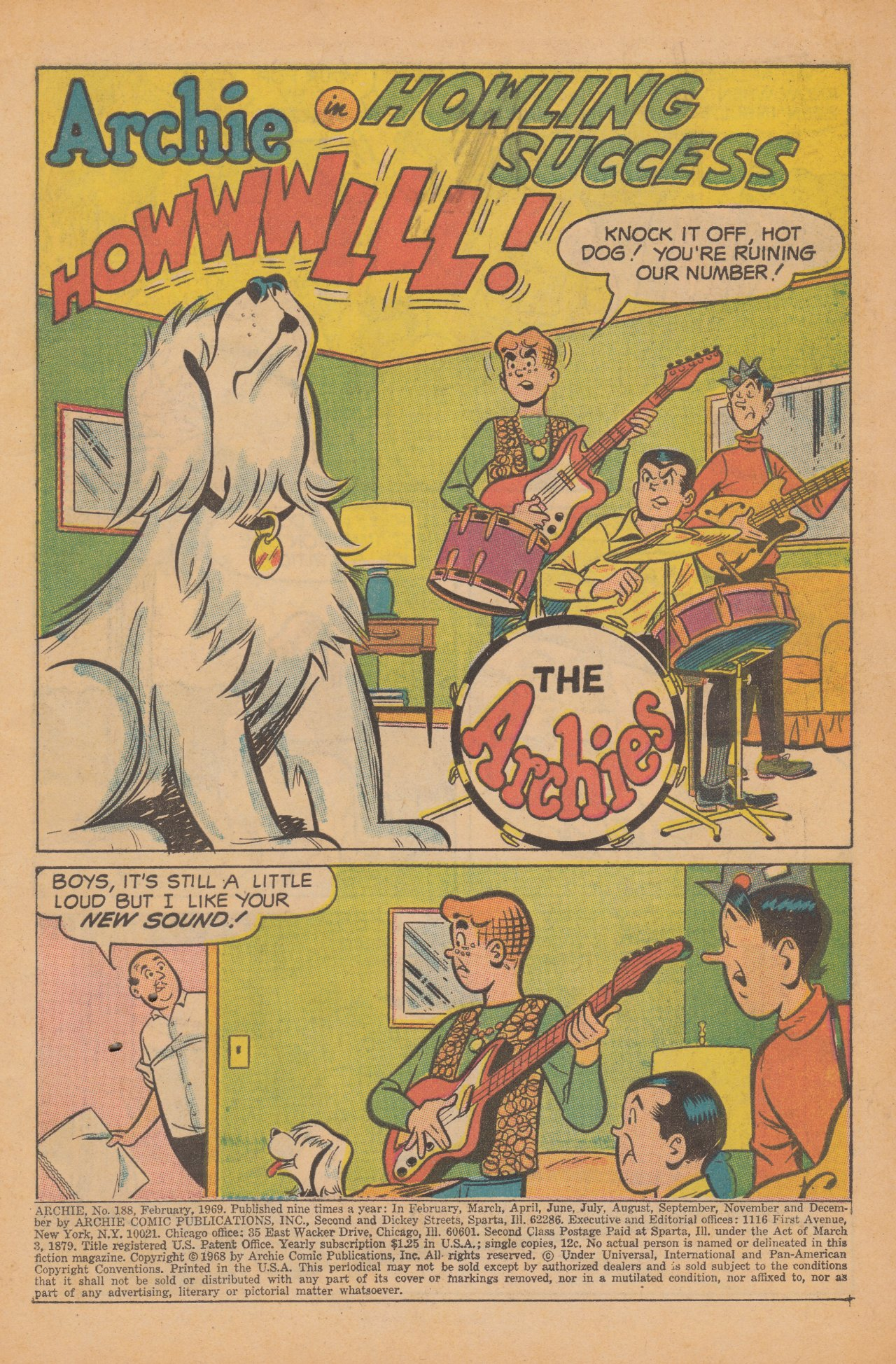 Read online Archie (1960) comic -  Issue #188 - 3