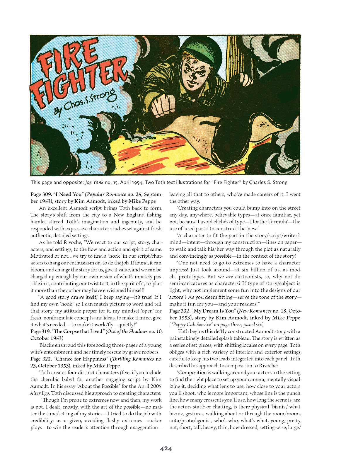 Read online Setting the Standard: Comics by Alex Toth 1952-1954 comic -  Issue # TPB (Part 4) - 125