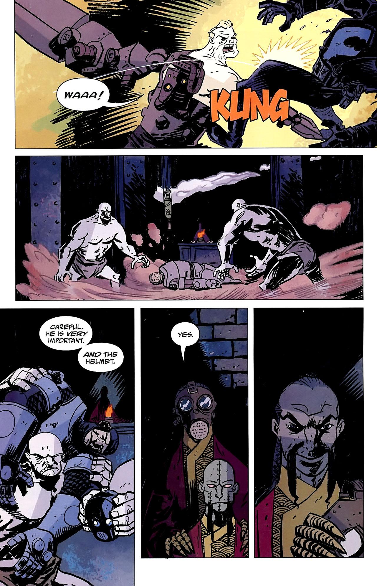Read online Lobster Johnson: The Iron Prometheus comic -  Issue #2 - 16