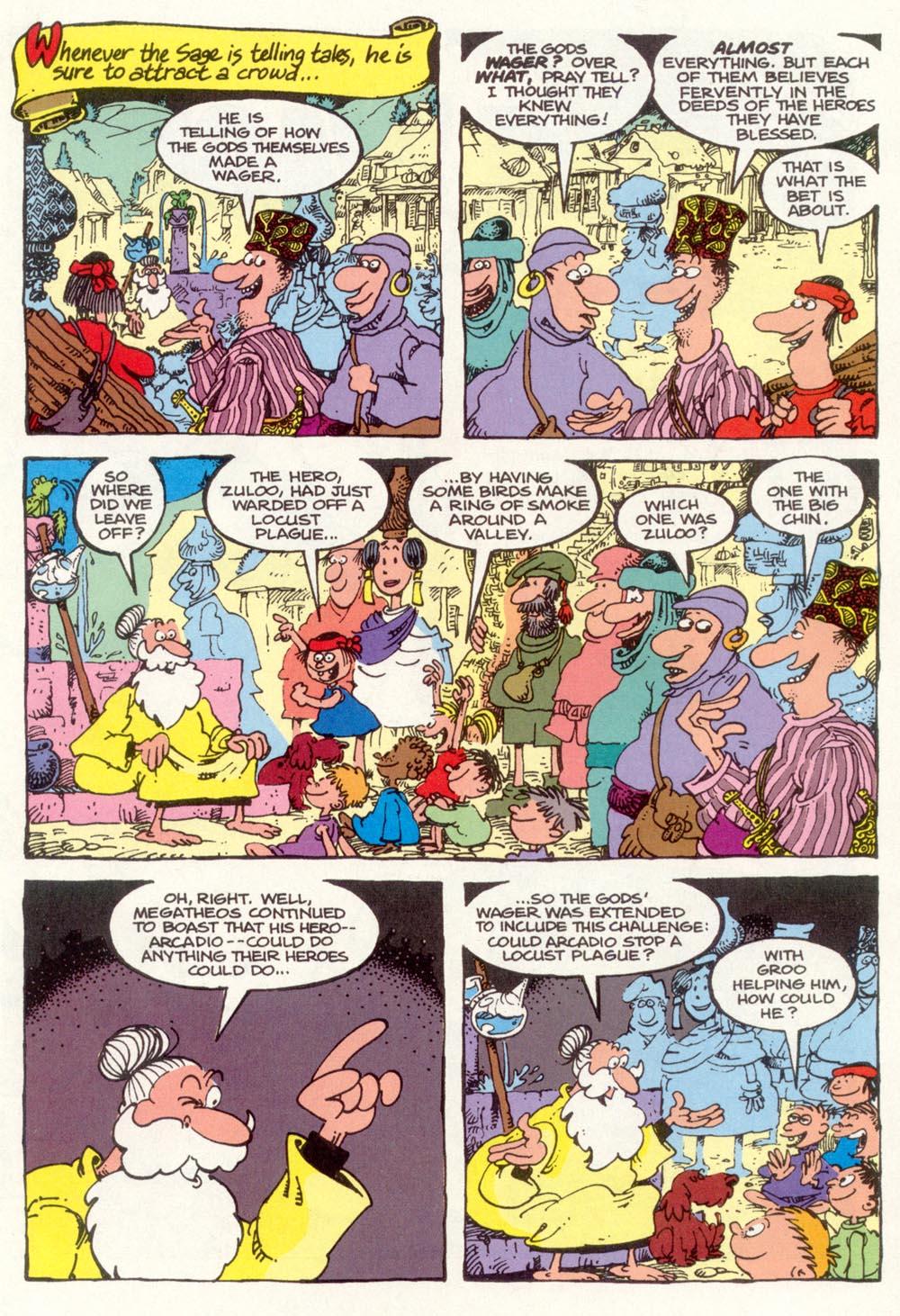 Read online Sergio Aragonés Groo the Wanderer comic -  Issue #97 - 3