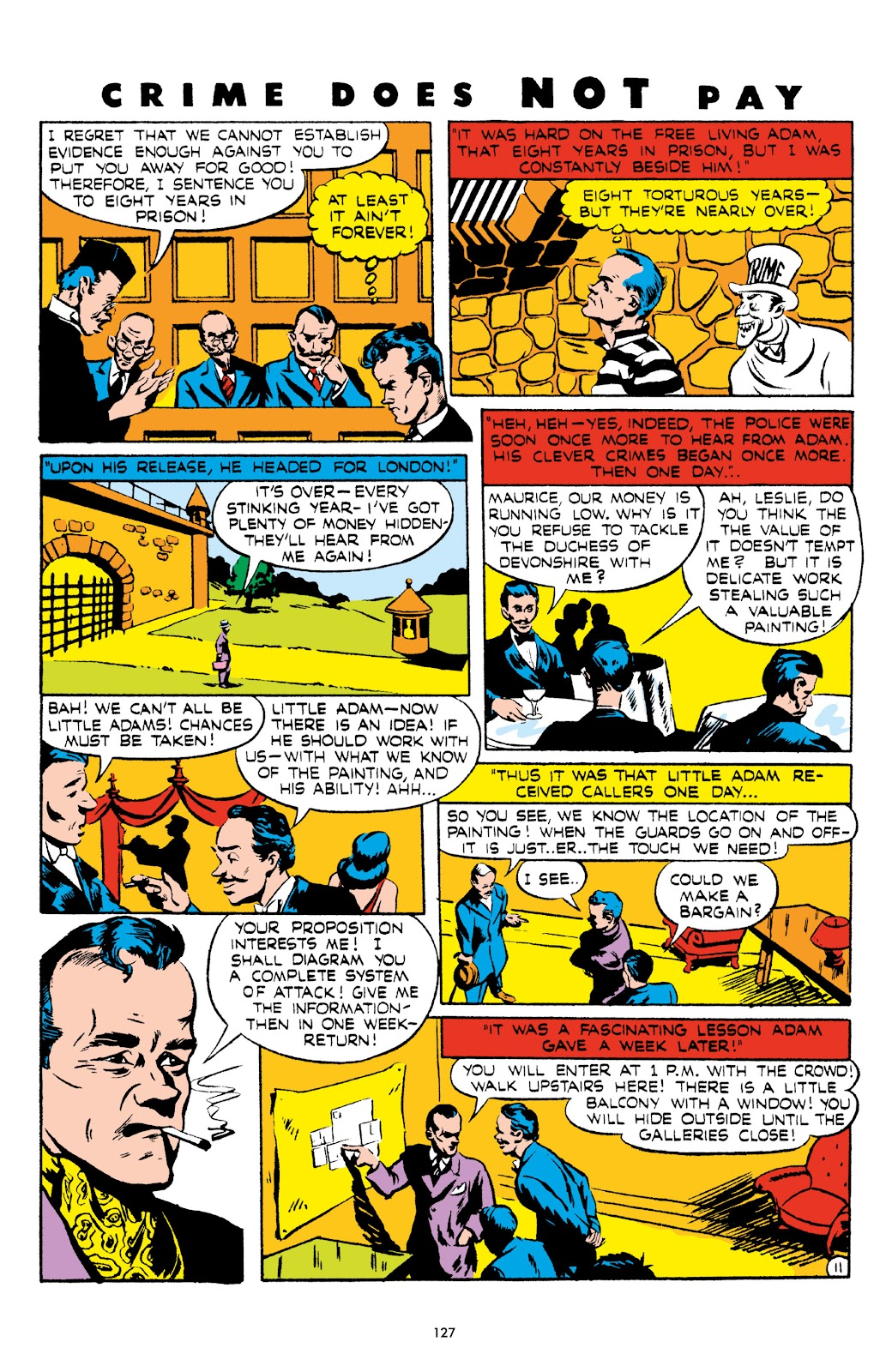 Read online Crime Does Not Pay Archives comic -  Issue # TPB 5 (Part 2) - 27