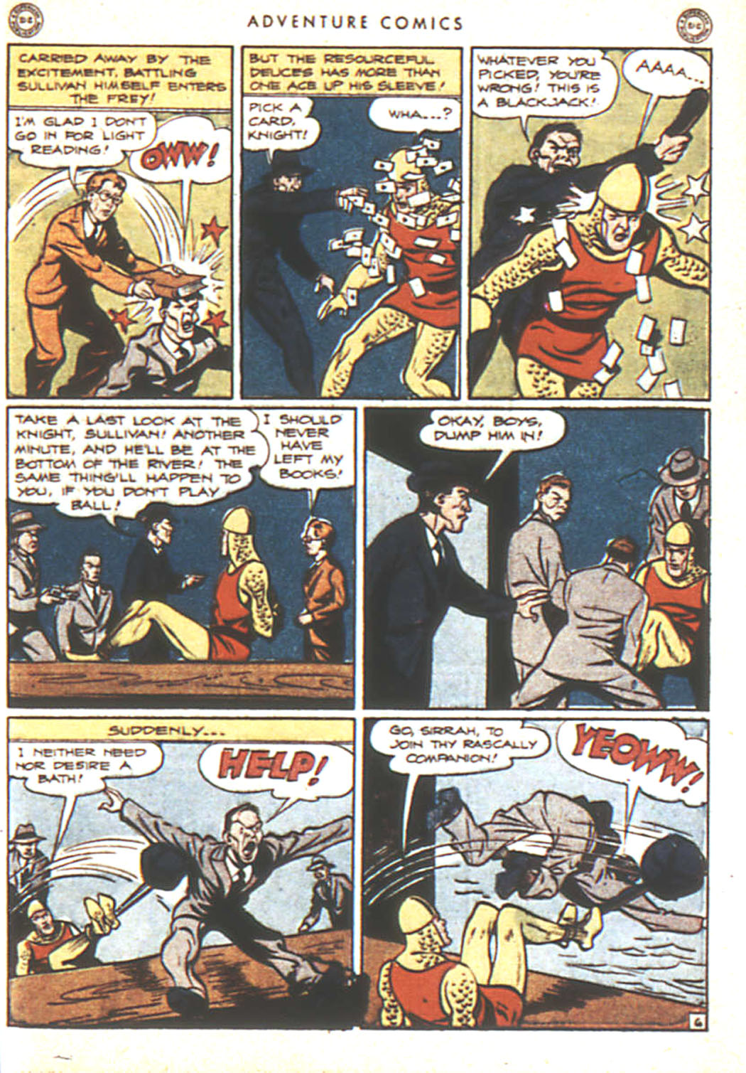 Read online Adventure Comics (1938) comic -  Issue #92 - 23