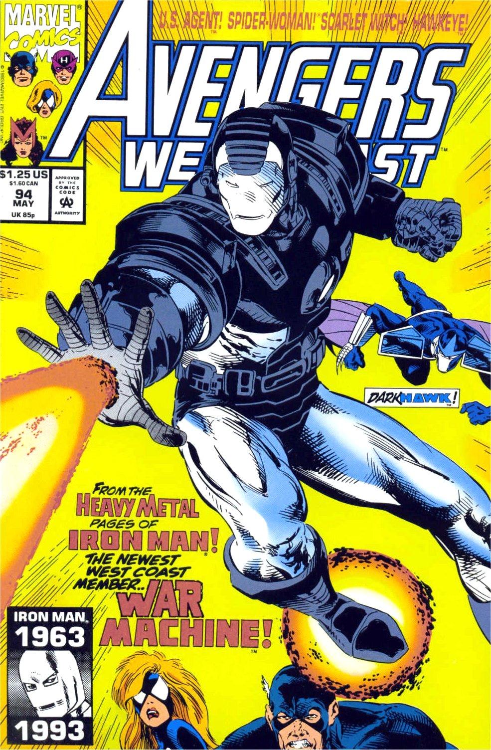 Avengers West Coast (1989) 94 Page 1