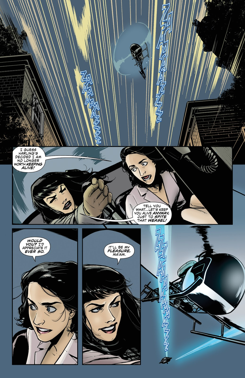 Read online Bettie Page (2018) comic -  Issue #4 - 10