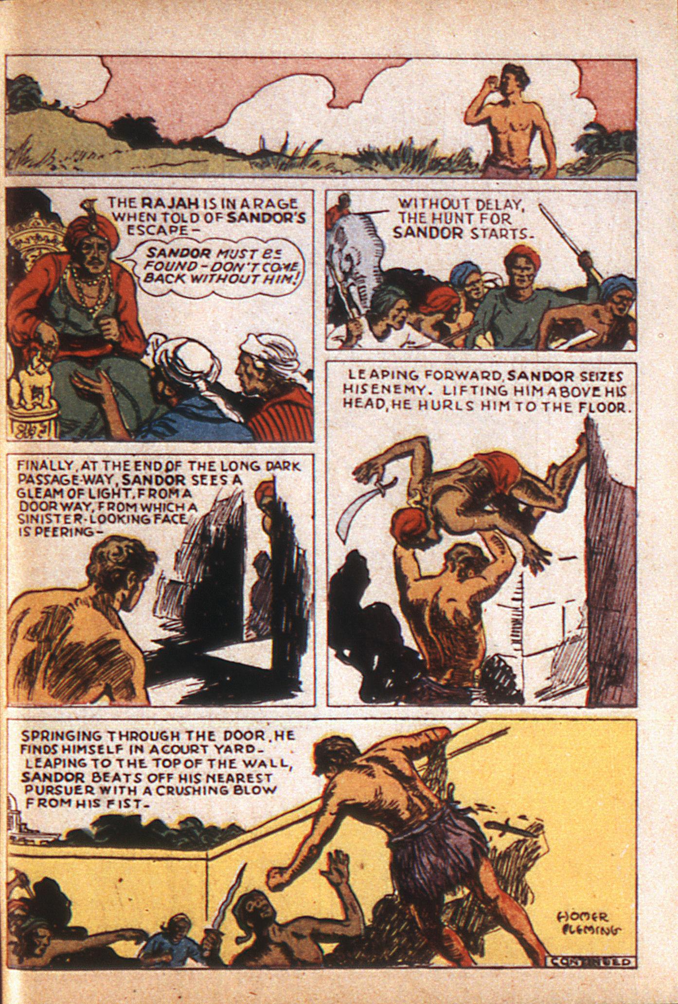 Read online Adventure Comics (1938) comic -  Issue #8 - 52