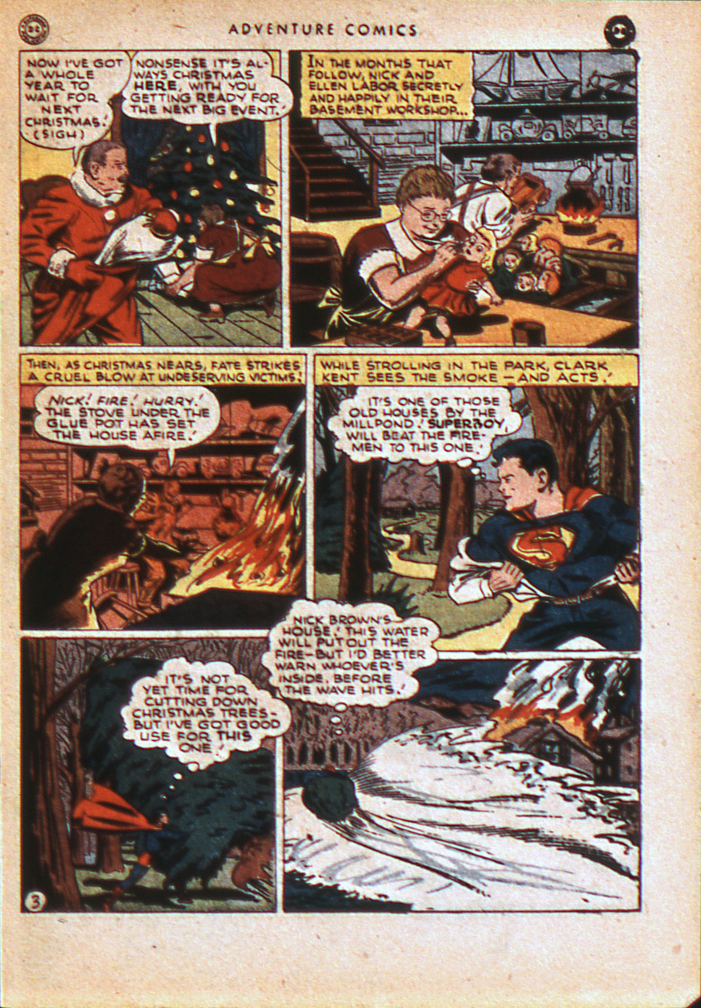 Read online Adventure Comics (1938) comic -  Issue #113 - 6