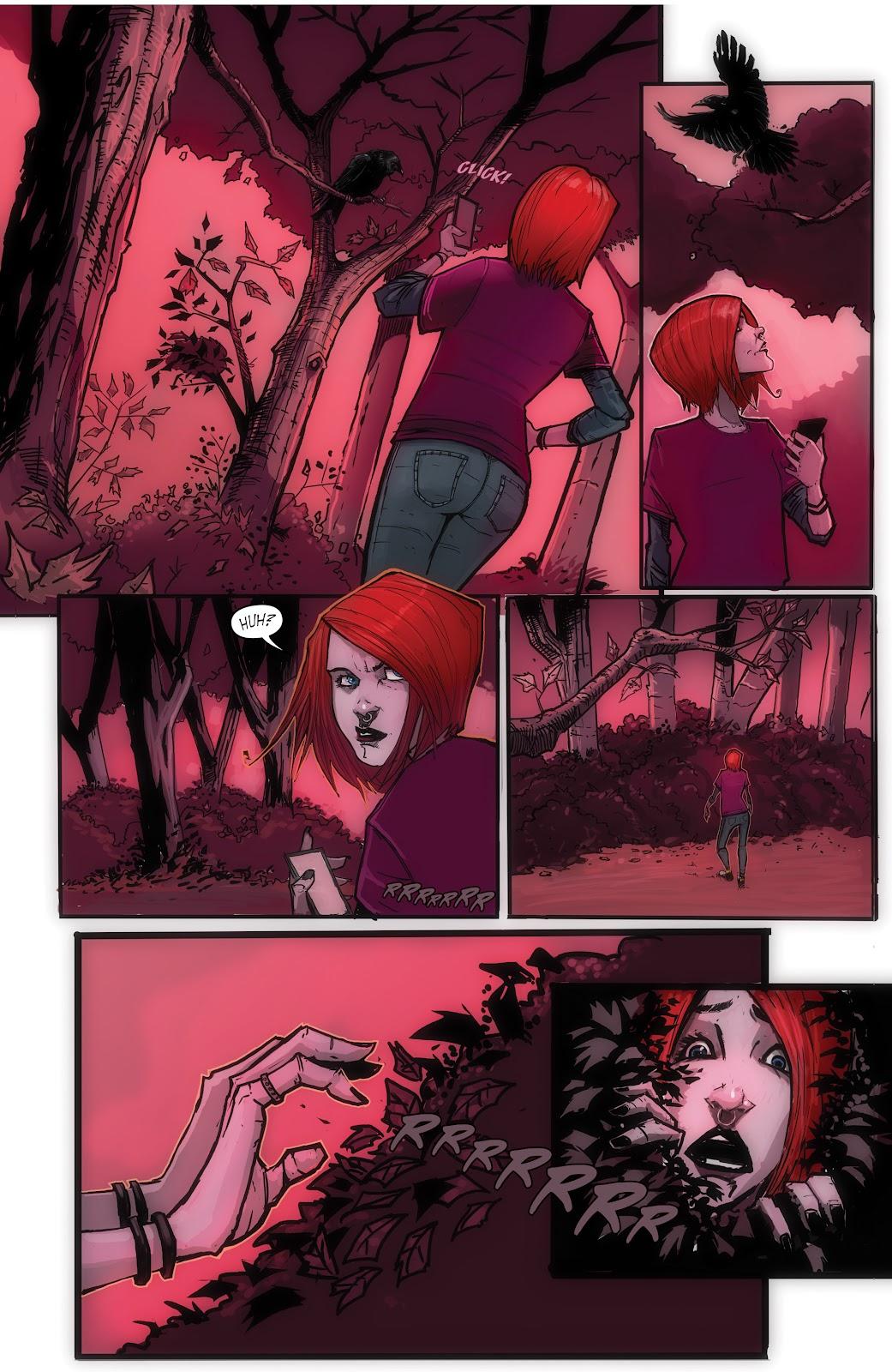 Read online John Carpenter Presents Storm Kids: Monica Bleue: A Werewolf Story comic -  Issue #1 - 19