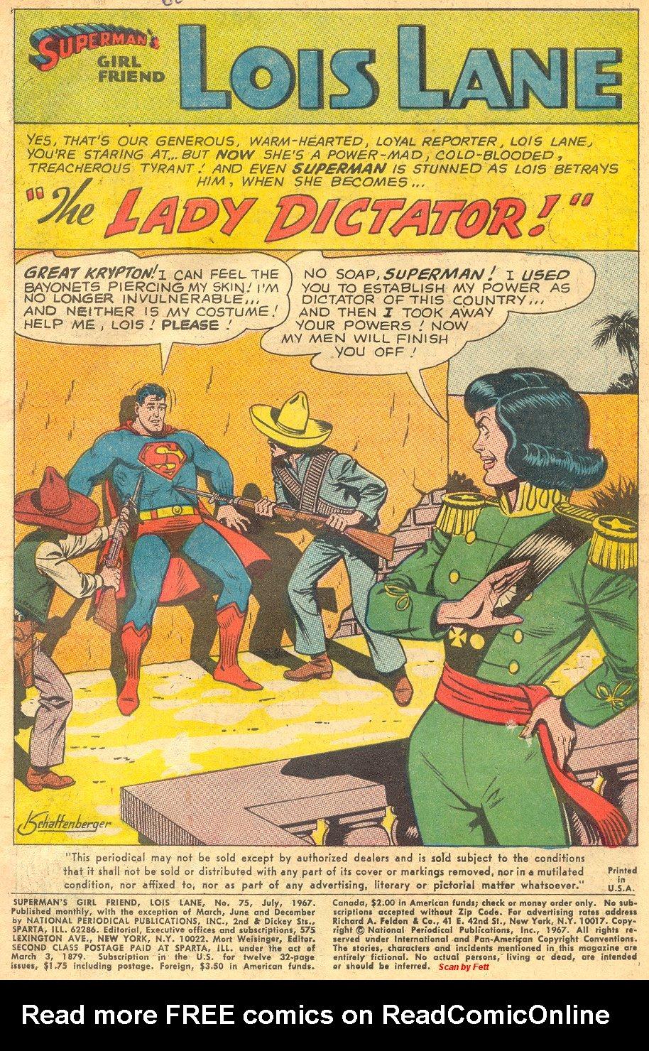 Supermans Girl Friend, Lois Lane 75 Page 3