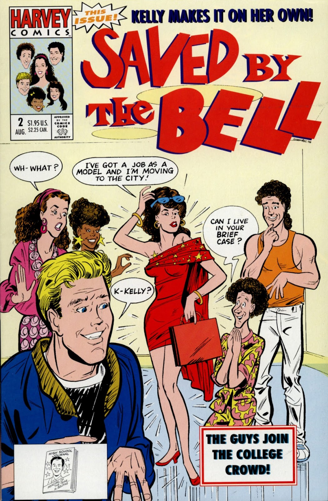 Read online Saved By The Bell comic -  Issue #2 - 1