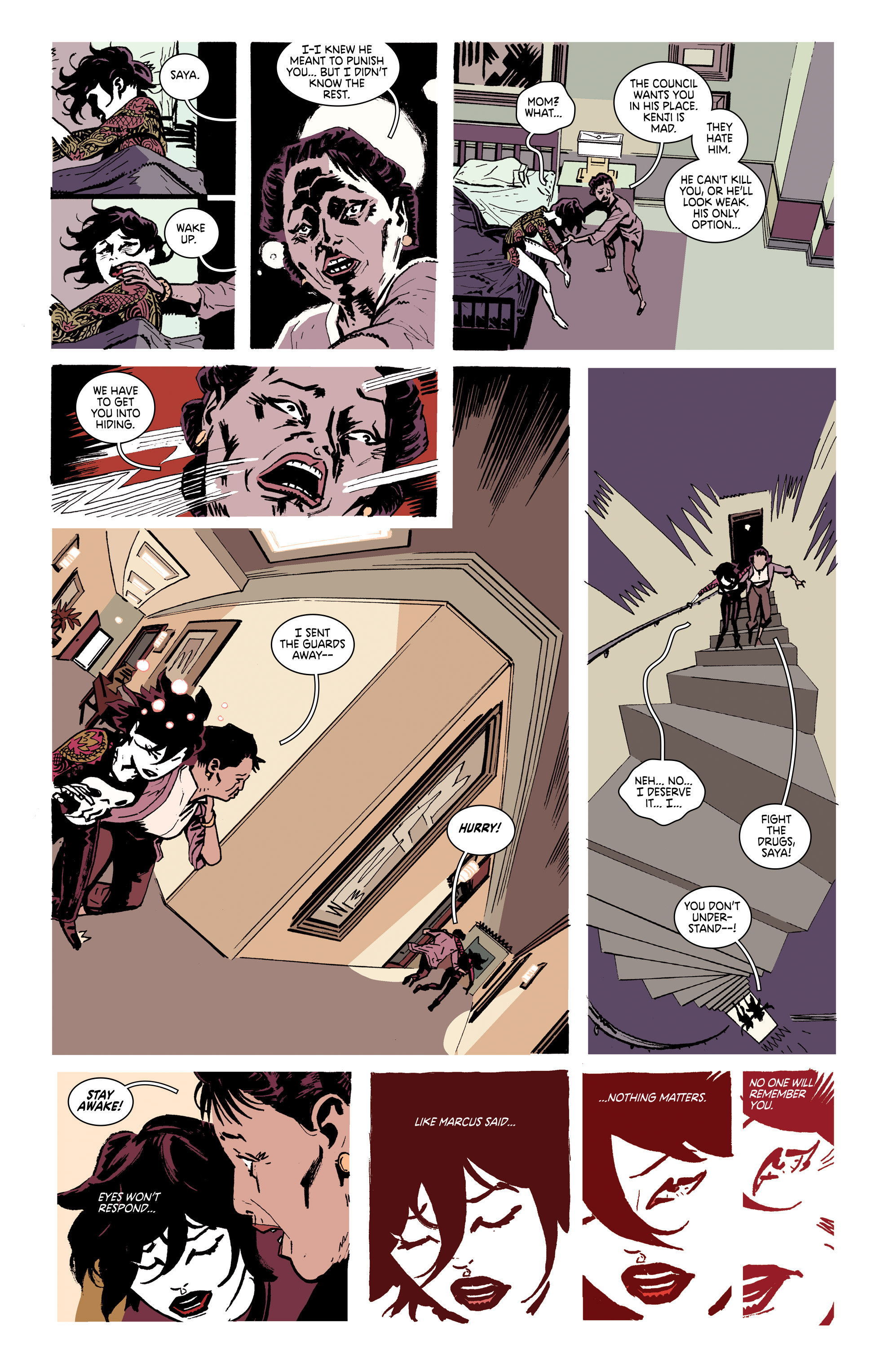 Read online Deadly Class comic -  Issue #28 - 21