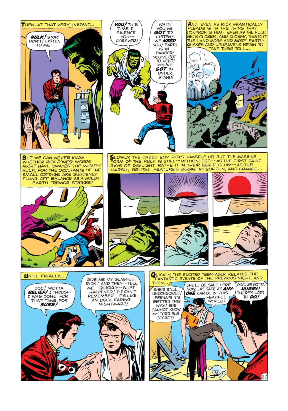 Read online Marvel Masterworks: The Incredible Hulk comic -  Issue # TPB 1 (Part 1) - 50