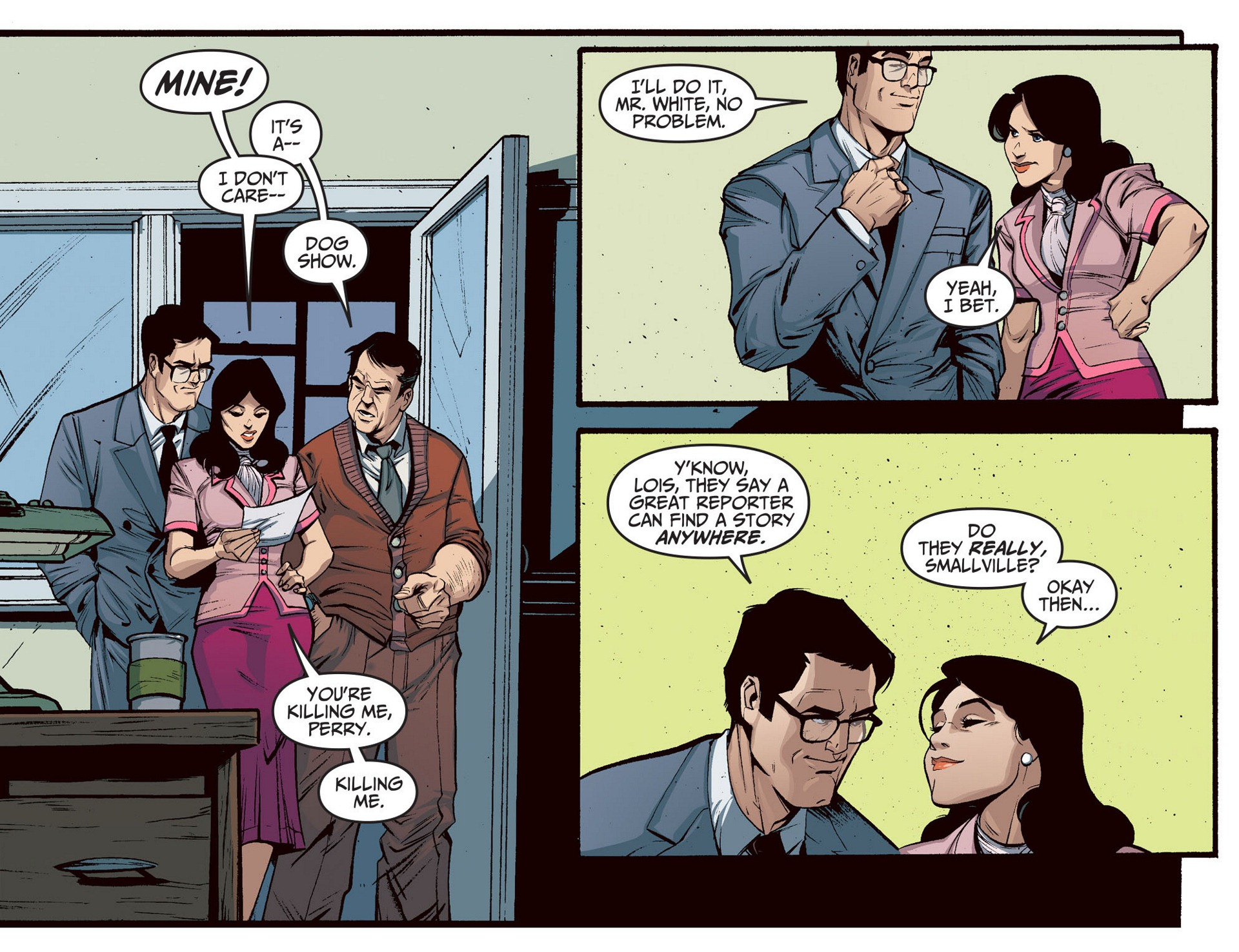 Read online Adventures of Superman [I] comic -  Issue #5 - 4