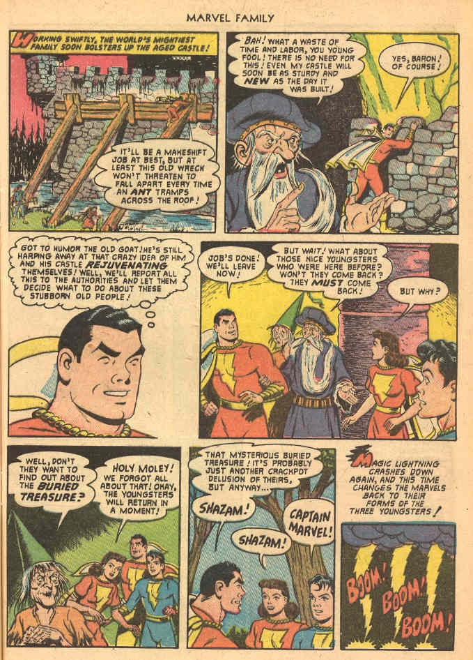 The Marvel Family issue 69 - Page 9