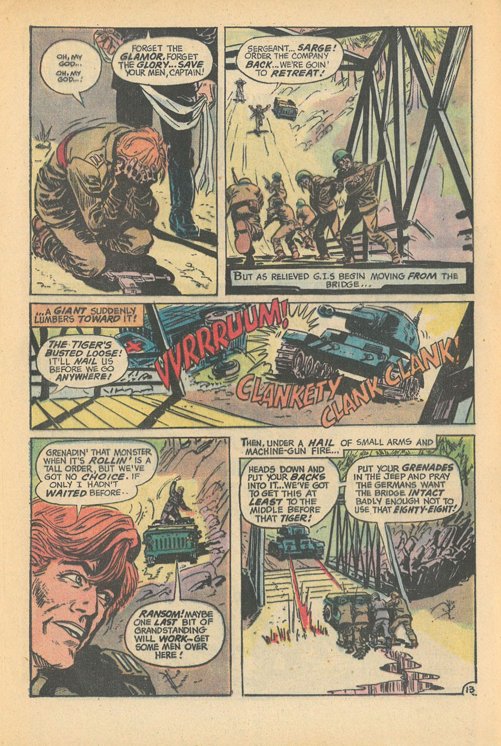 Read online Star Spangled War Stories (1952) comic -  Issue #168 - 17