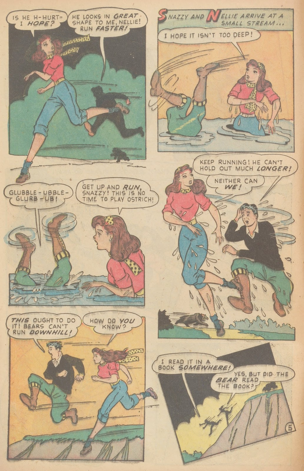Read online Nellie The Nurse (1945) comic -  Issue #11 - 16