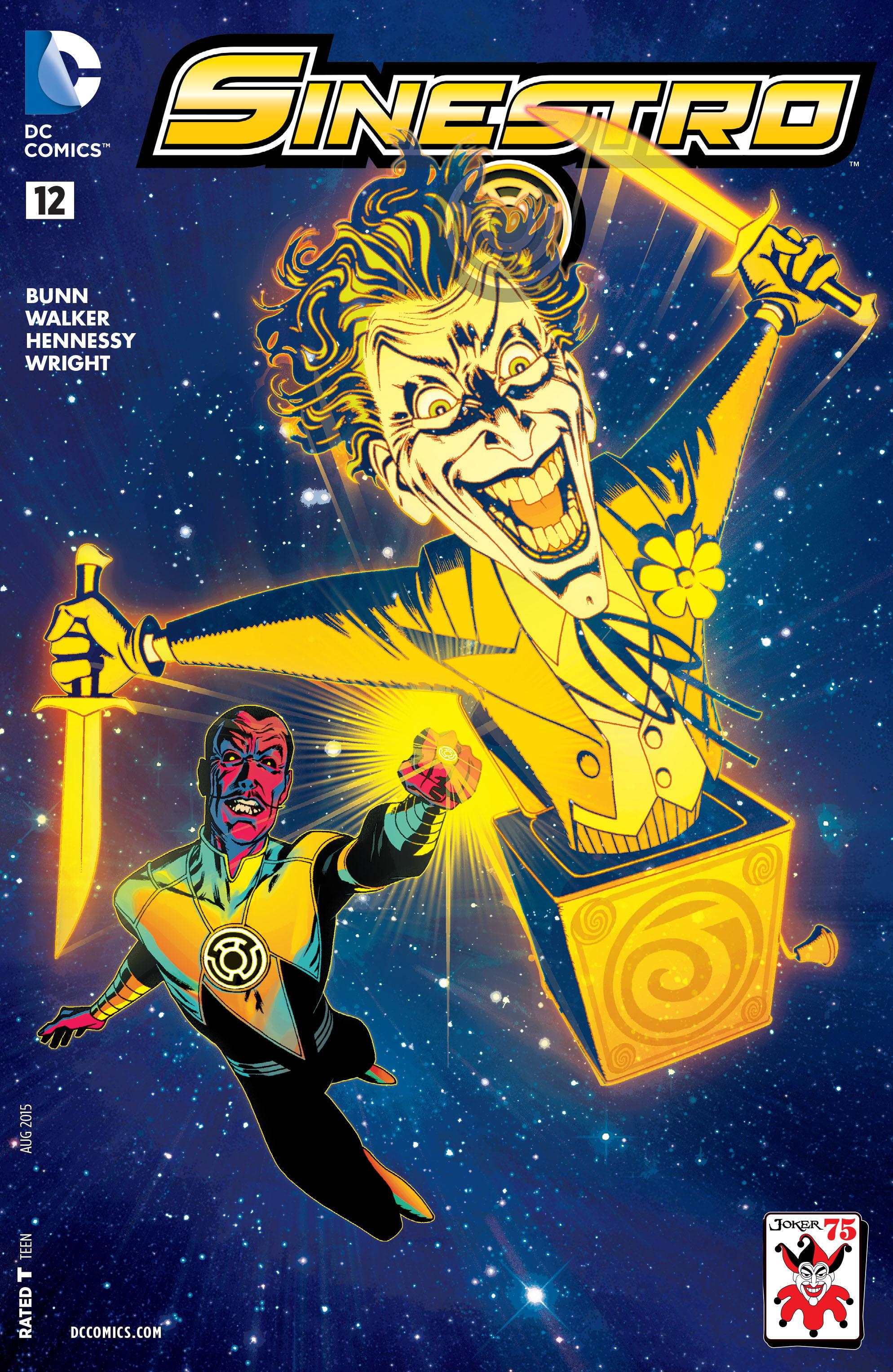 Read online Sinestro comic -  Issue #12 - 3