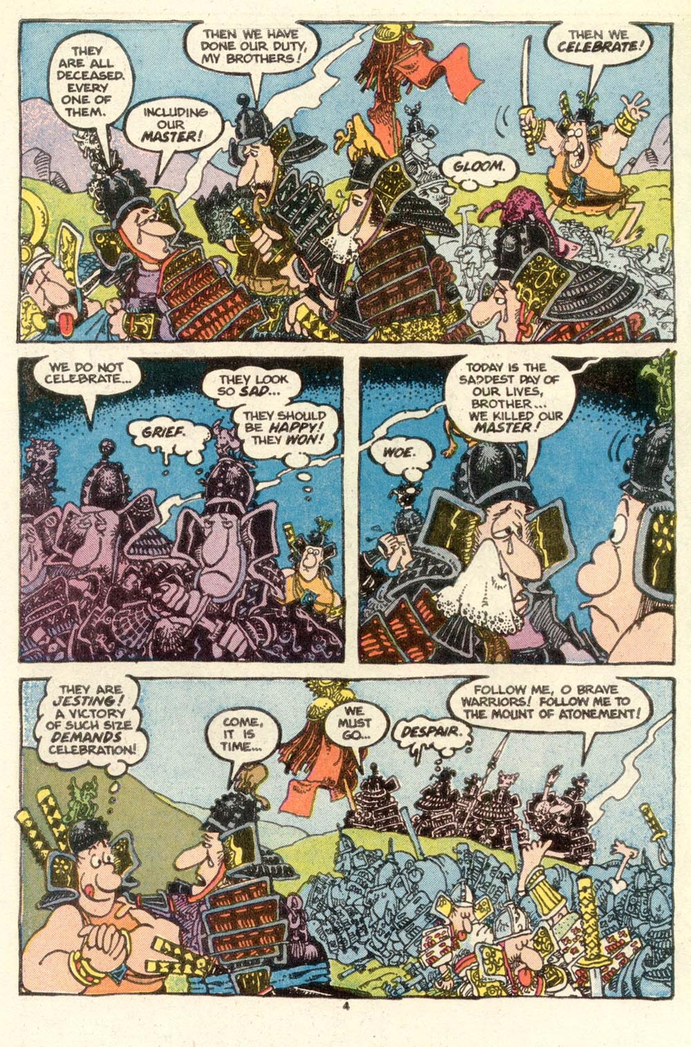 Read online Sergio Aragonés Groo the Wanderer comic -  Issue #15 - 4