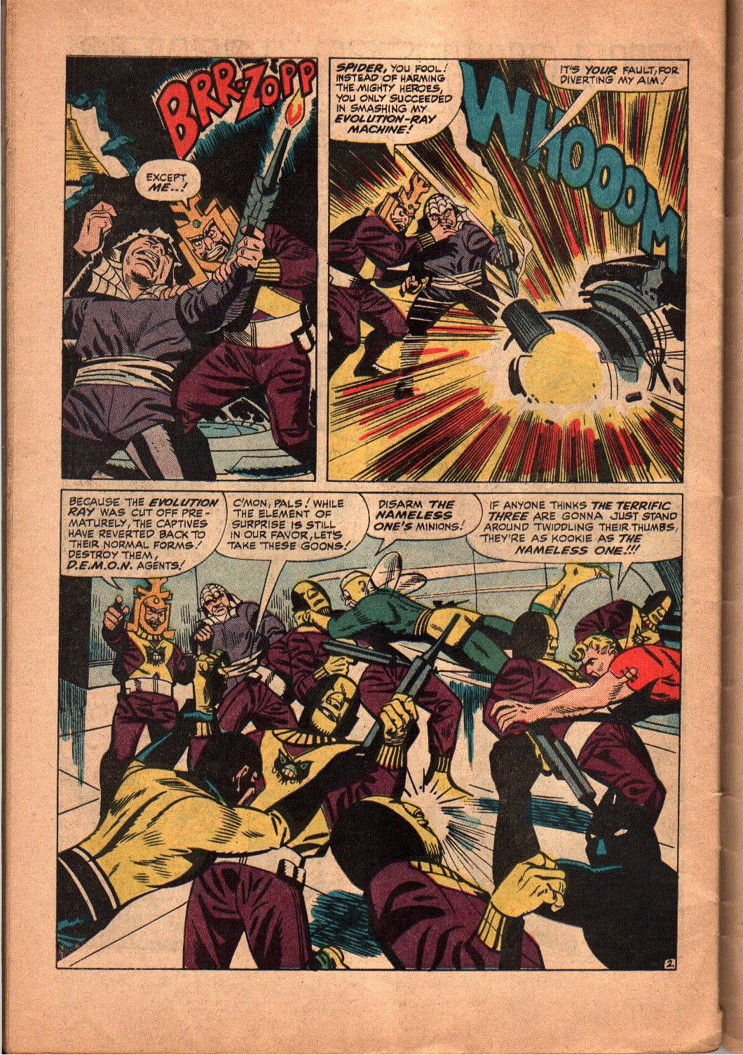 The Mighty Crusaders (1965) Issue #5 #5 - English 22