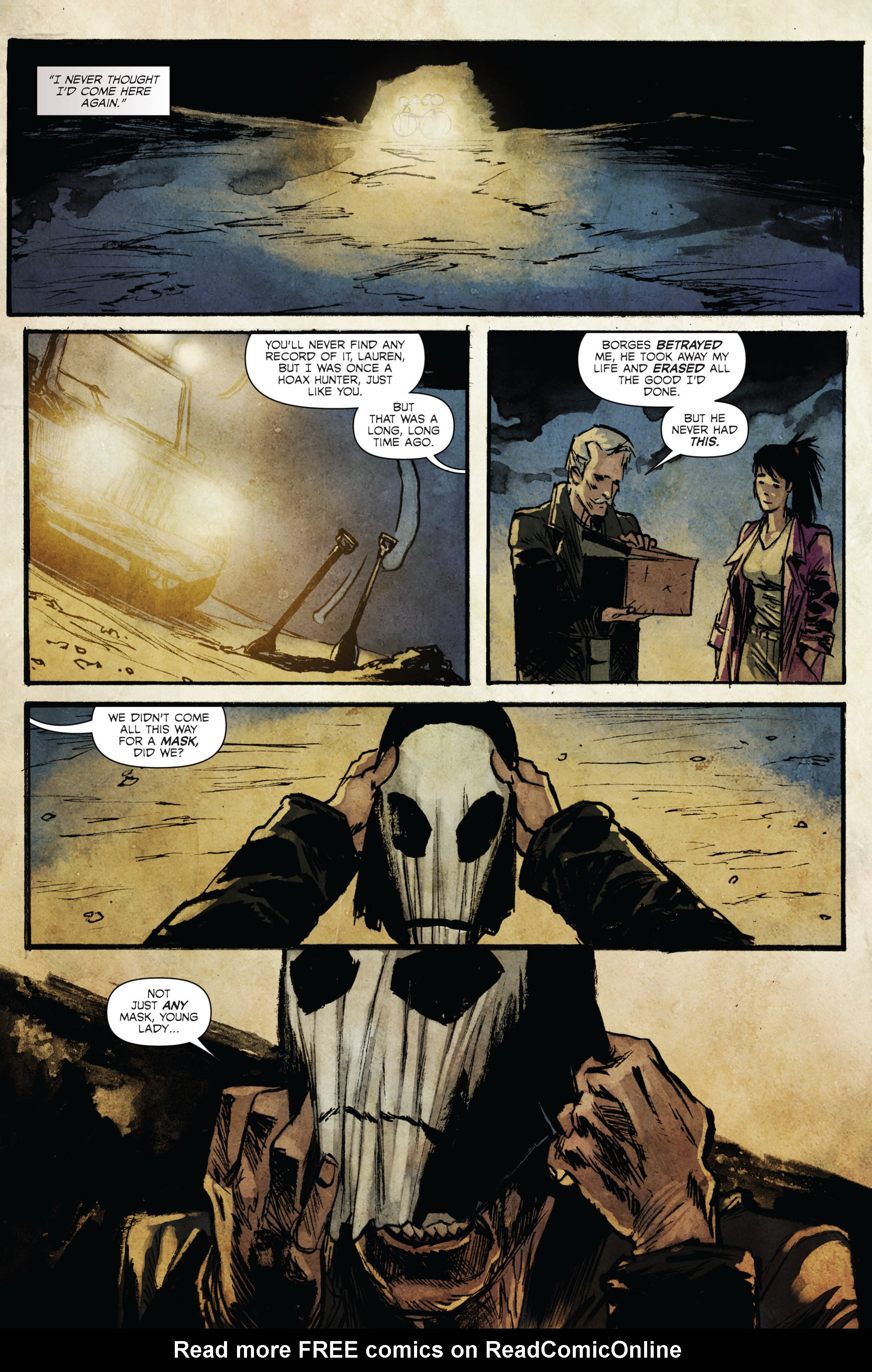 Read online Hoax Hunters (2015) comic -  Issue #3 - 23