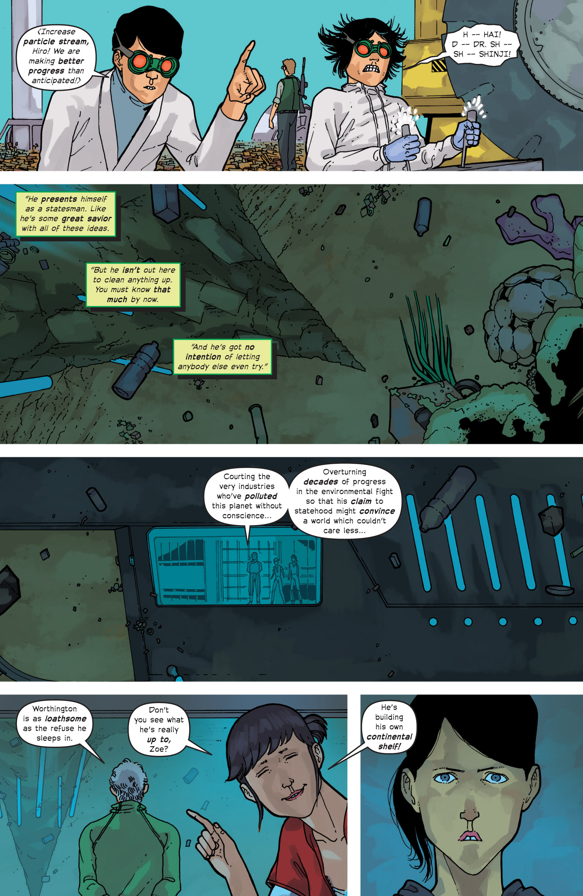 Read online Great Pacific comic -  Issue #11 - 21