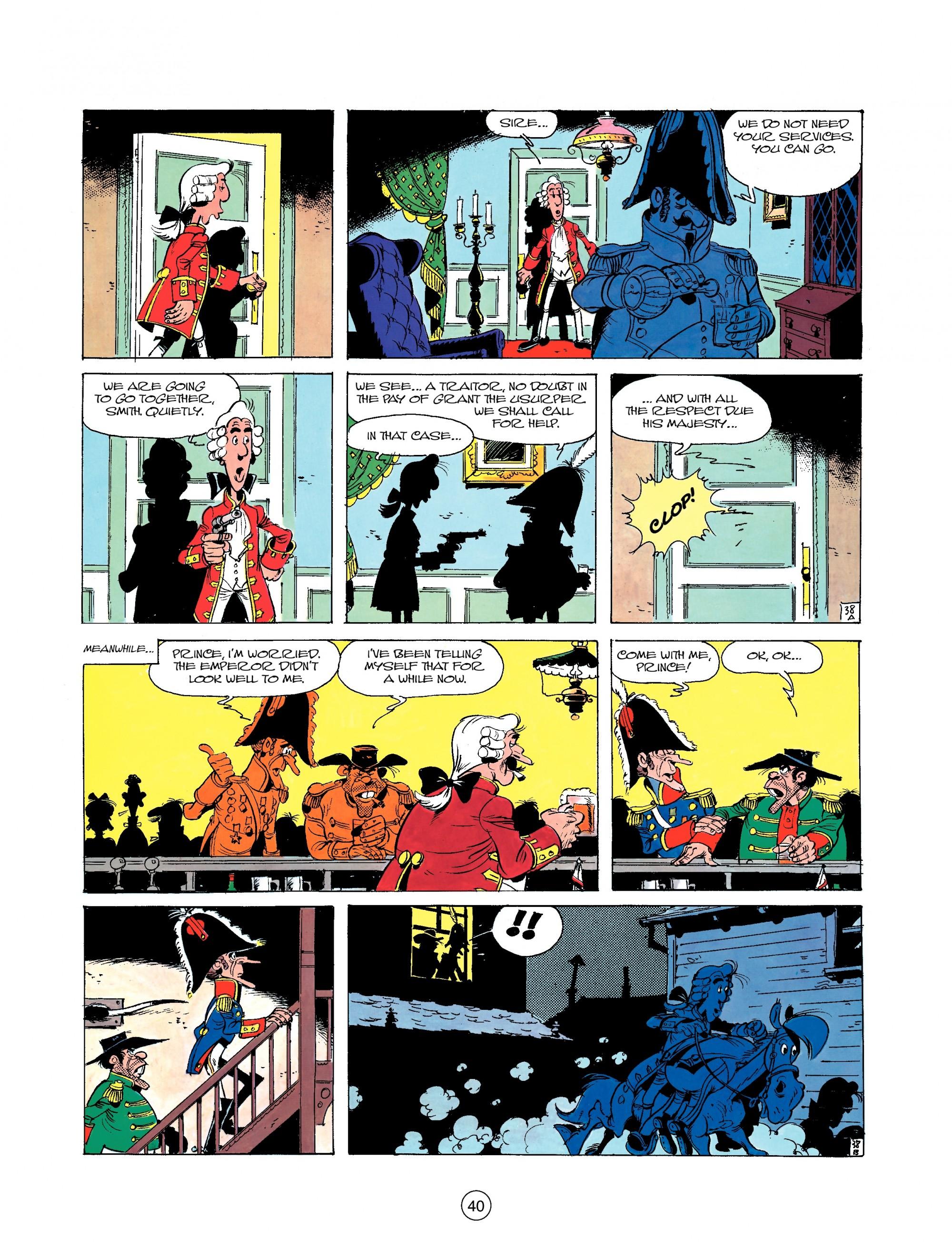 Read online A Lucky Luke Adventure comic -  Issue #22 - 40