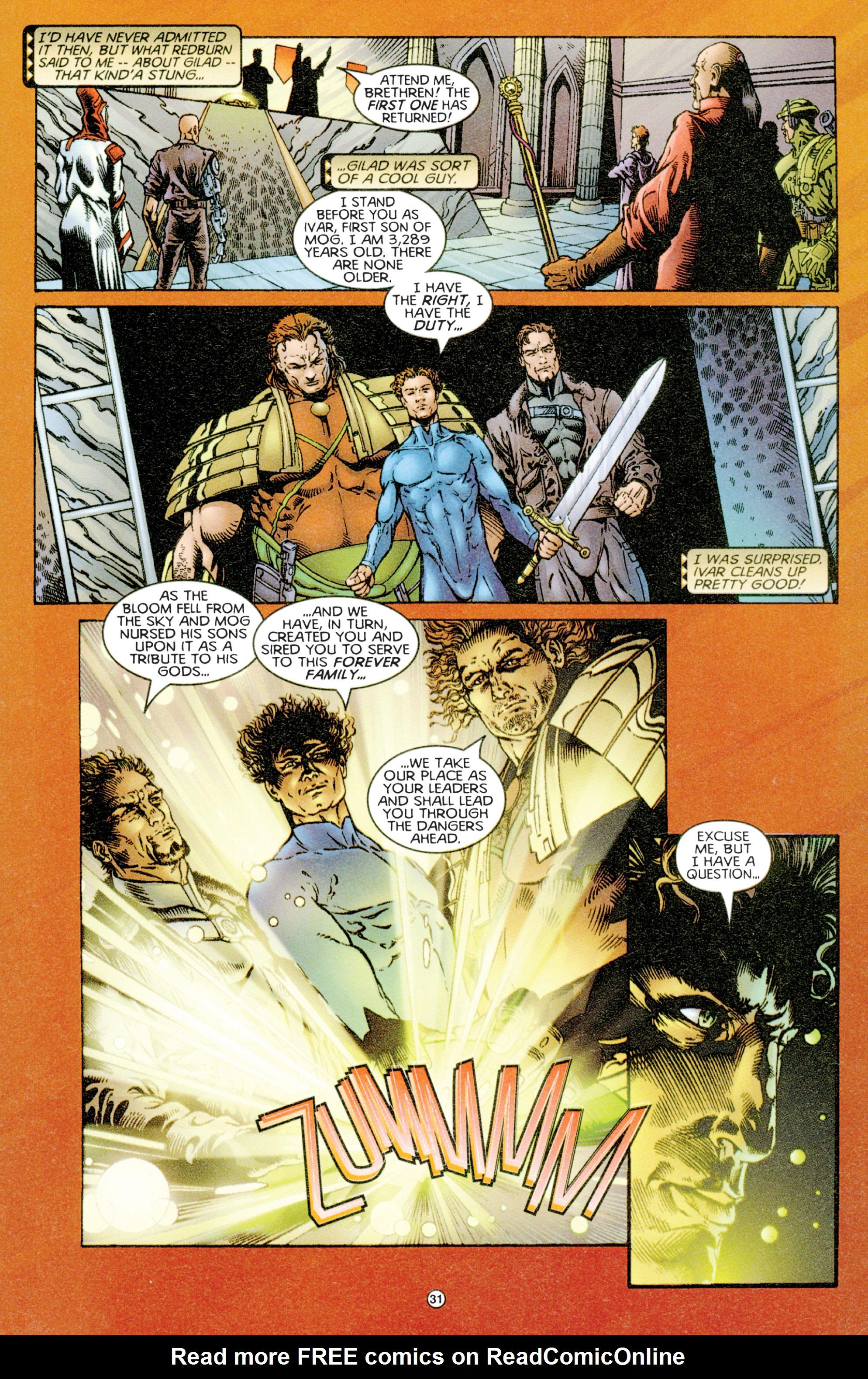Read online Eternal Warriors comic -  Issue # Issue Time & Treachery - 30