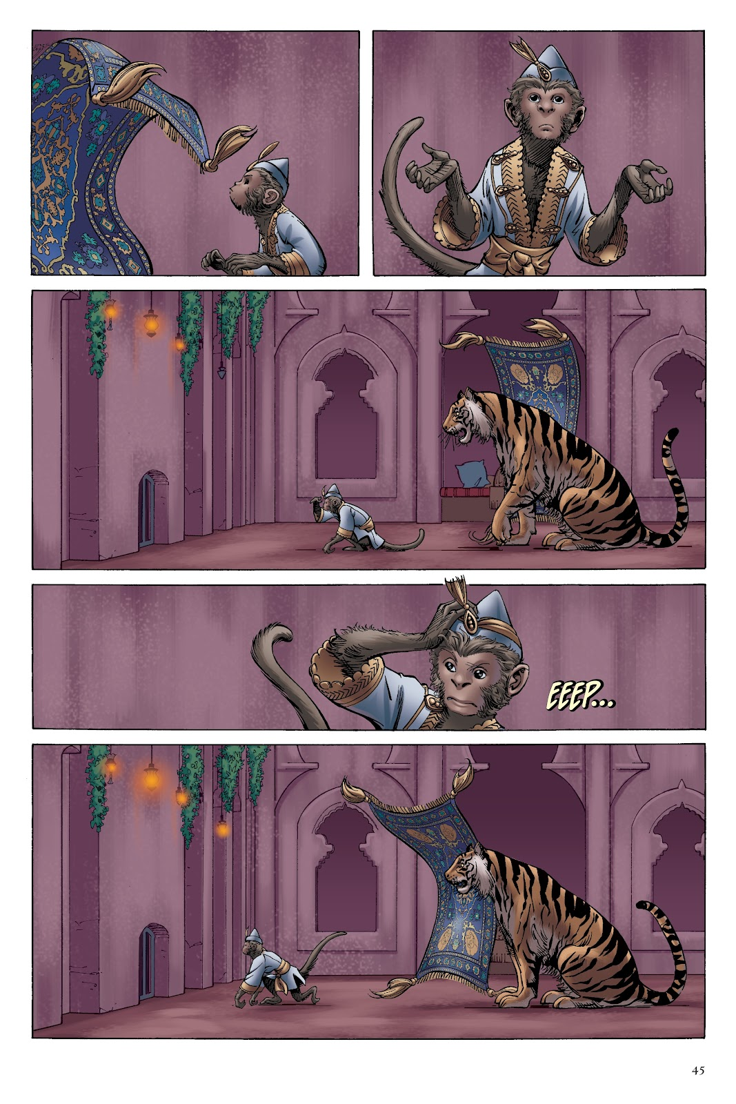 Read online Disney Aladdin: Four Tales of Agrabah comic -  Issue # TPB - 45