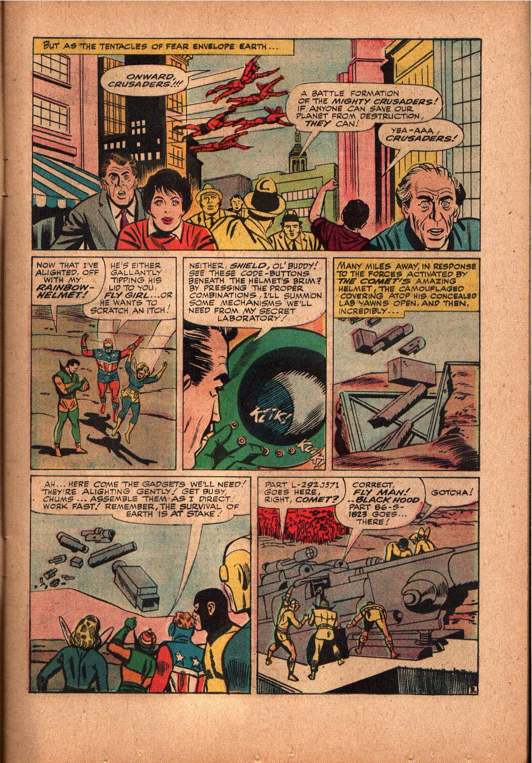 The Mighty Crusaders (1965) Issue #2 #2 - English 4