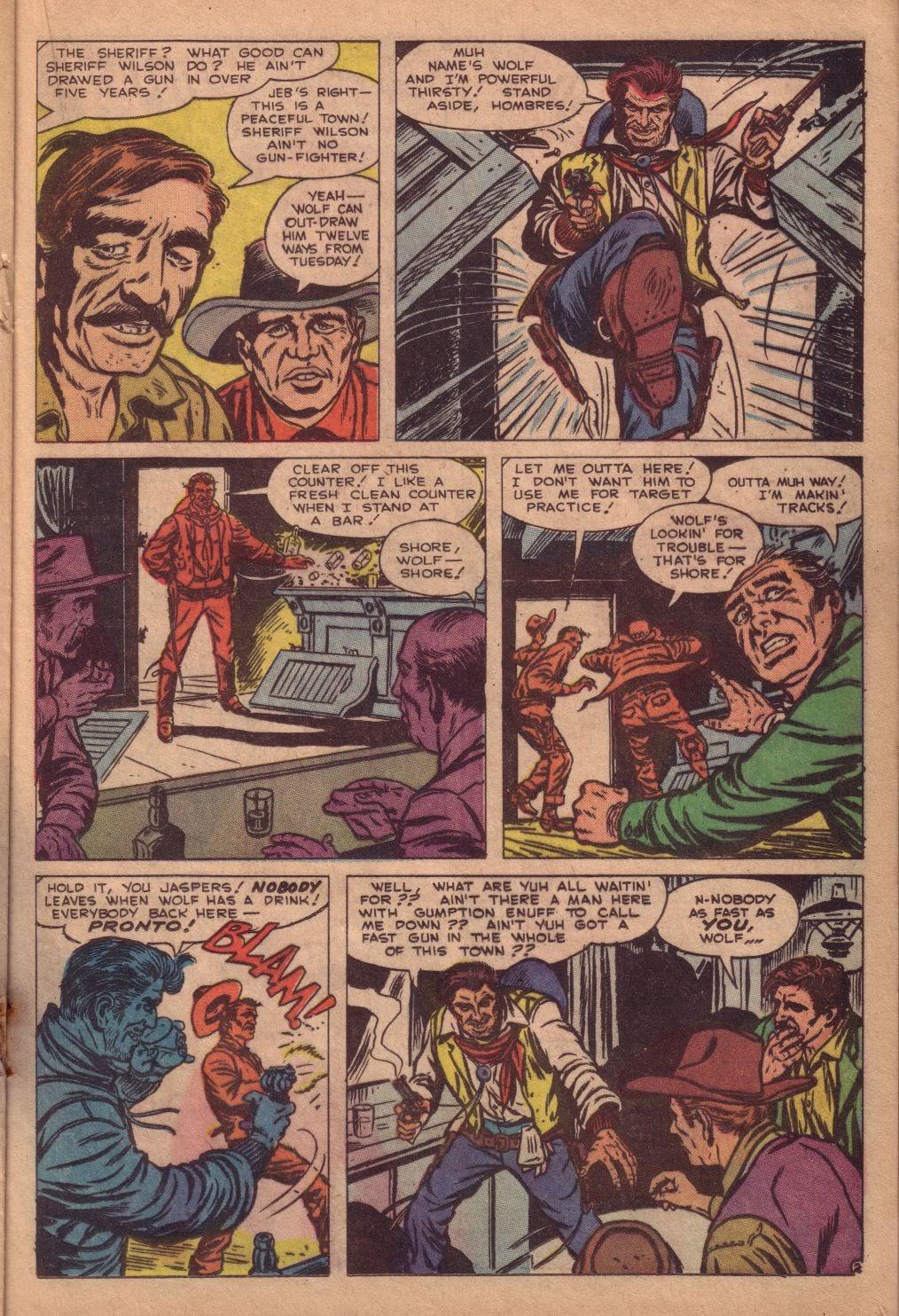 Gunsmoke Western issue 67 - Page 21